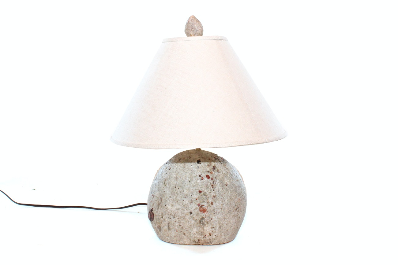 Handcrafted Rock Lamp