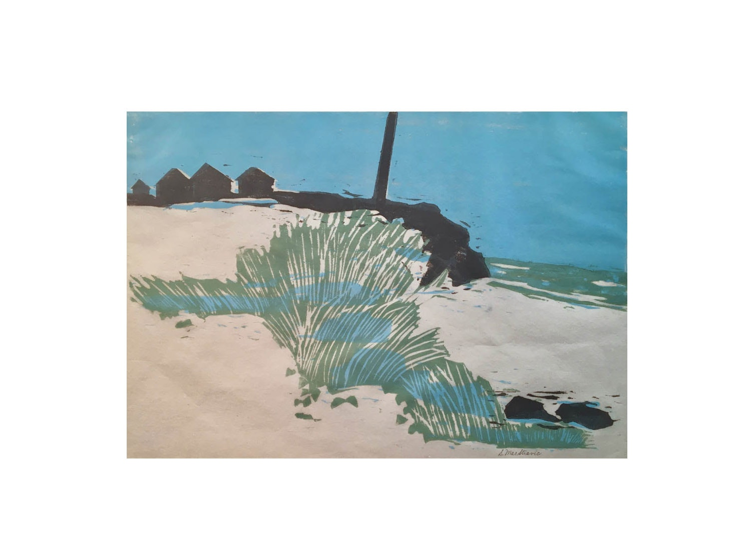 Sunny Cove by S. MacStravic, 1970's