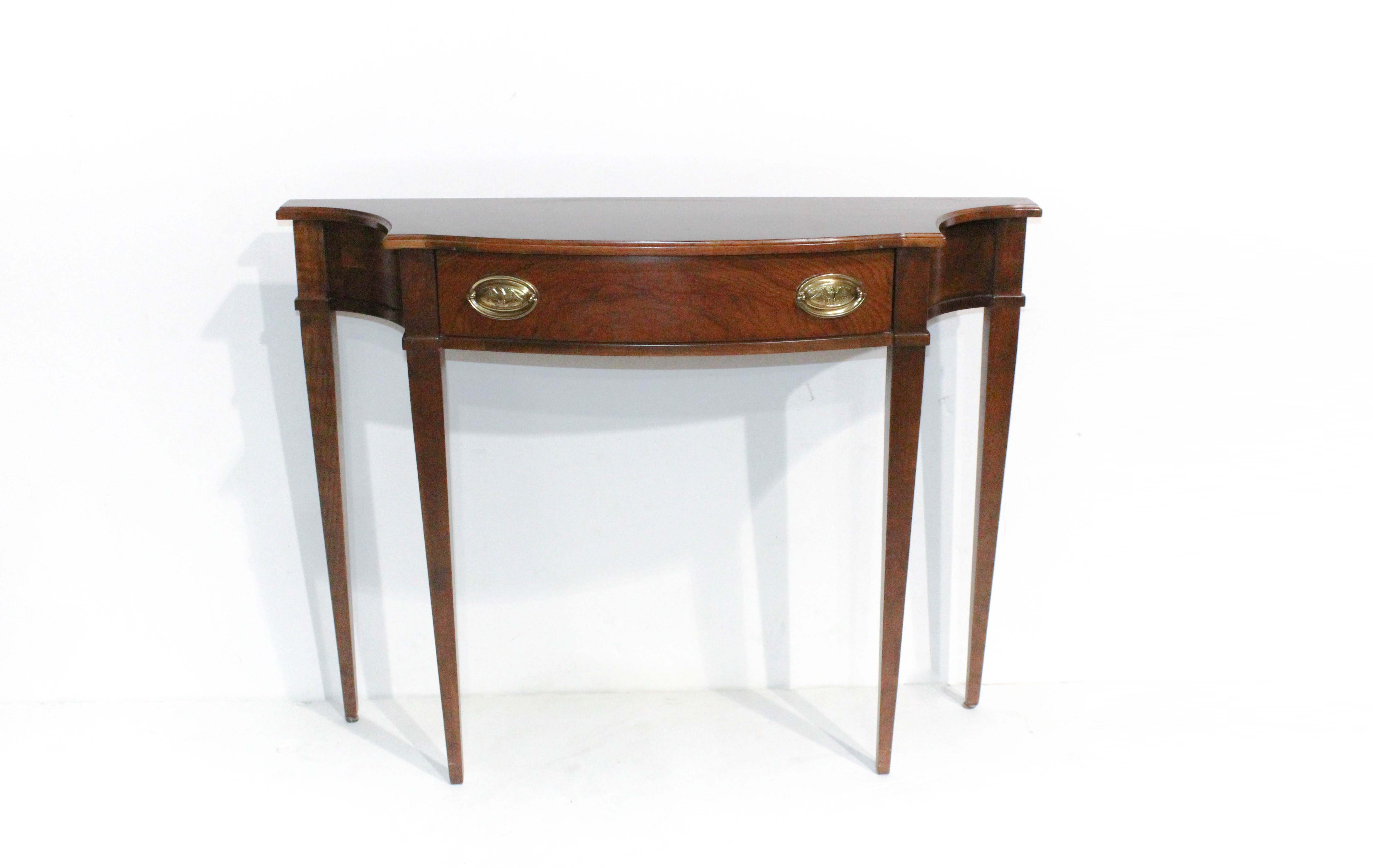 Inspirational Vintage Hepplewhite Style Cherry Console Table by Harden Amazing - Amazing cherry console table Amazing