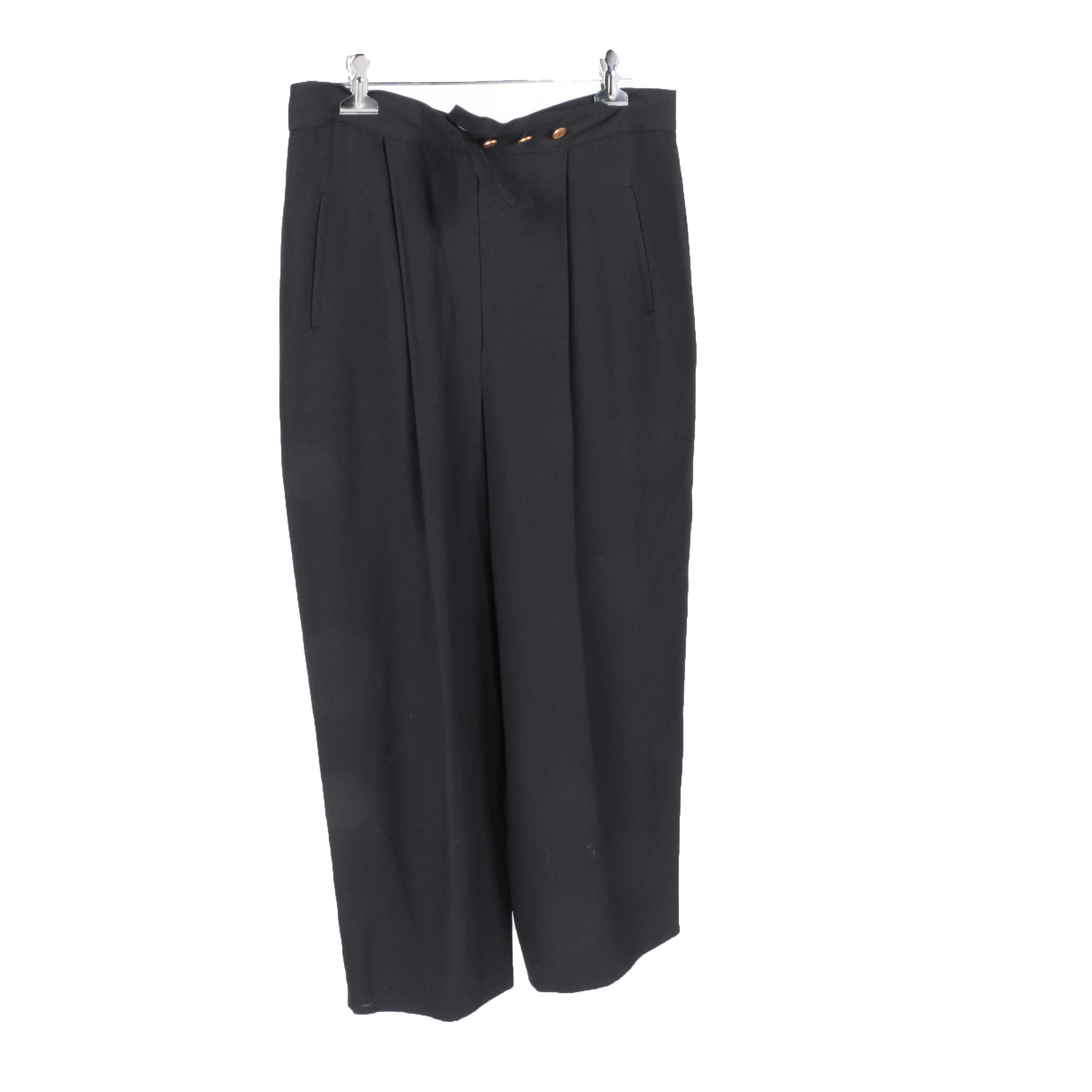 Sonia Rykiel Pleated Pants