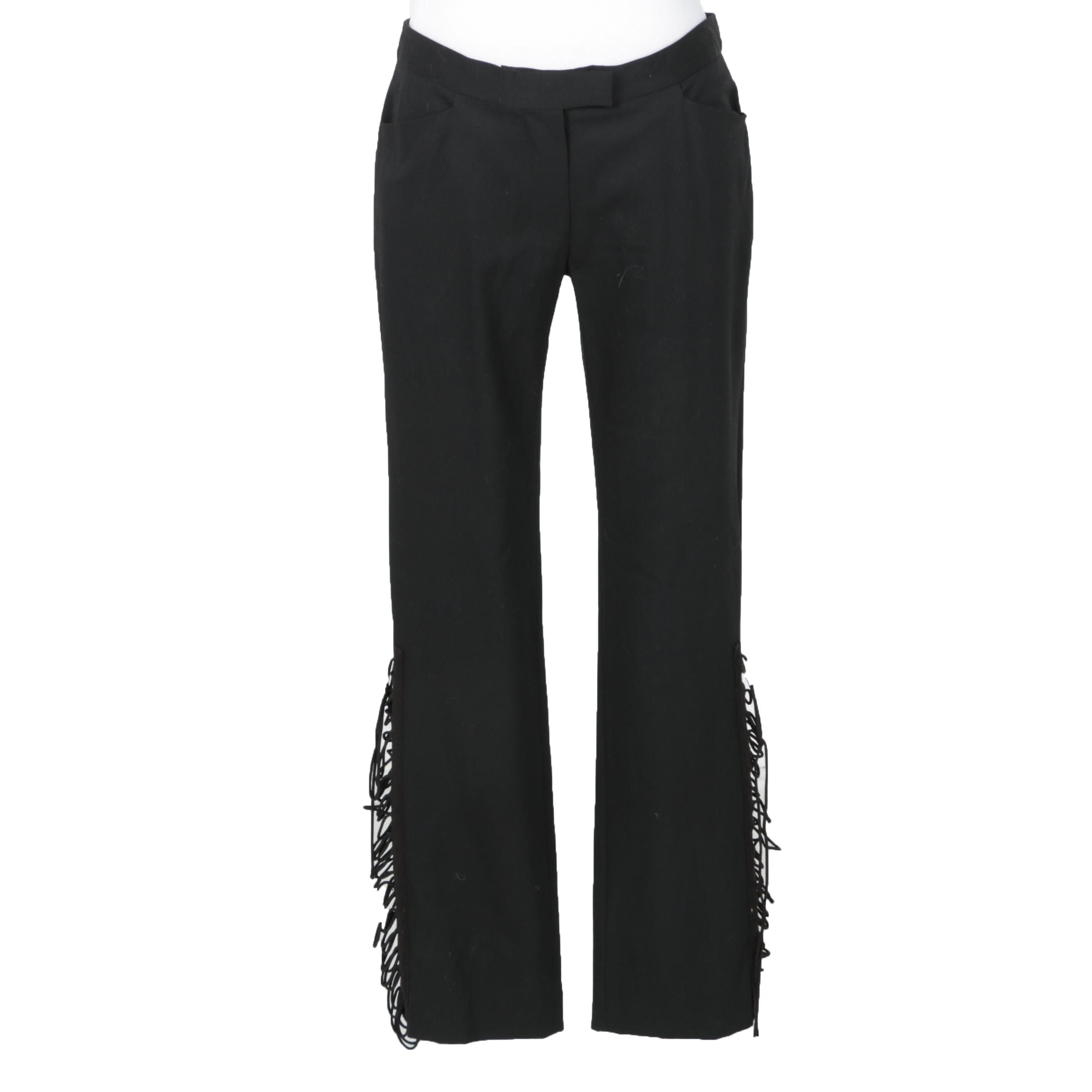 Women's Fredric Molenac Black Pants