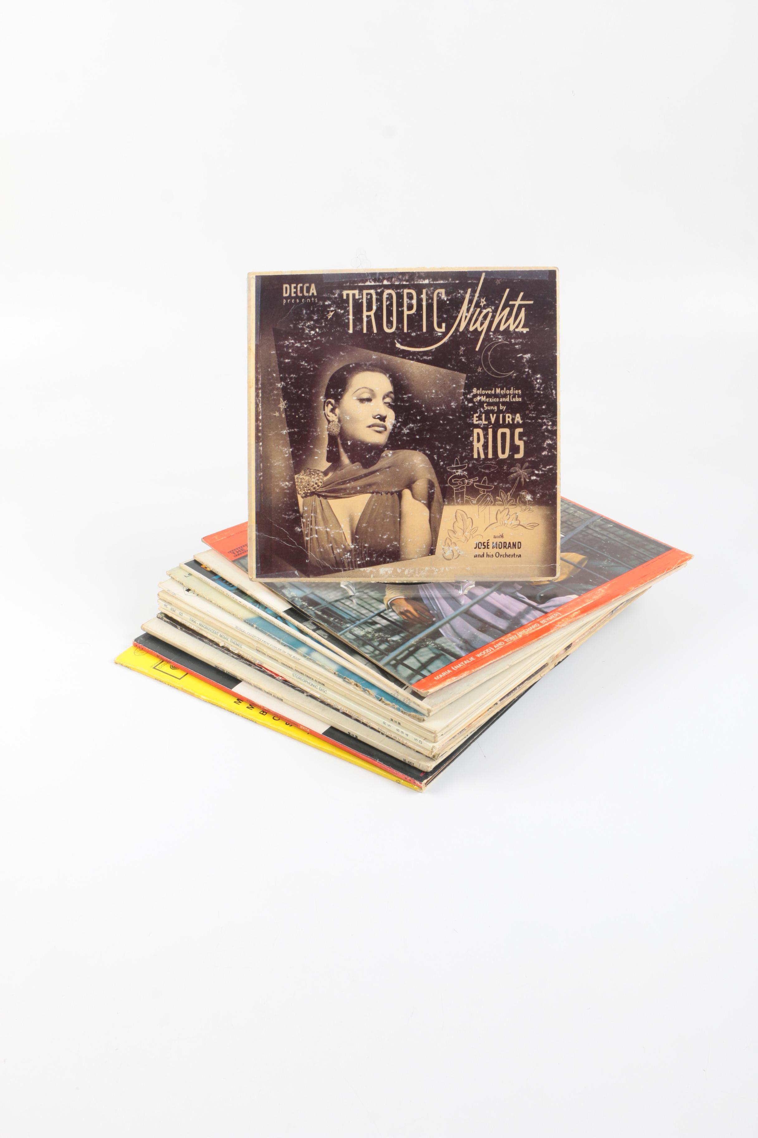 "Elvis, Nancy Sinatra, ""Doctor Zhivago"" and Other Soundtrack LPs"