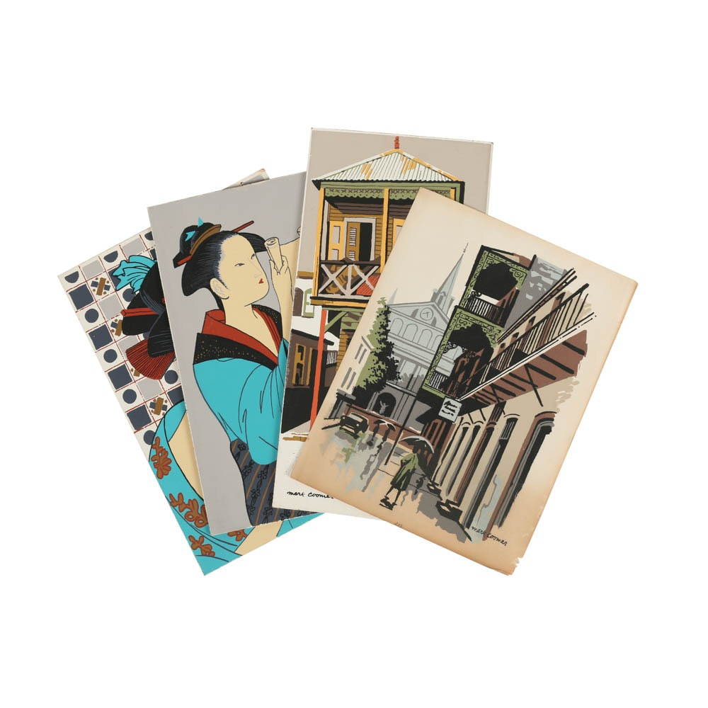 Assortment of Mark Coomer Limited Edition Serigraphs of various Themes