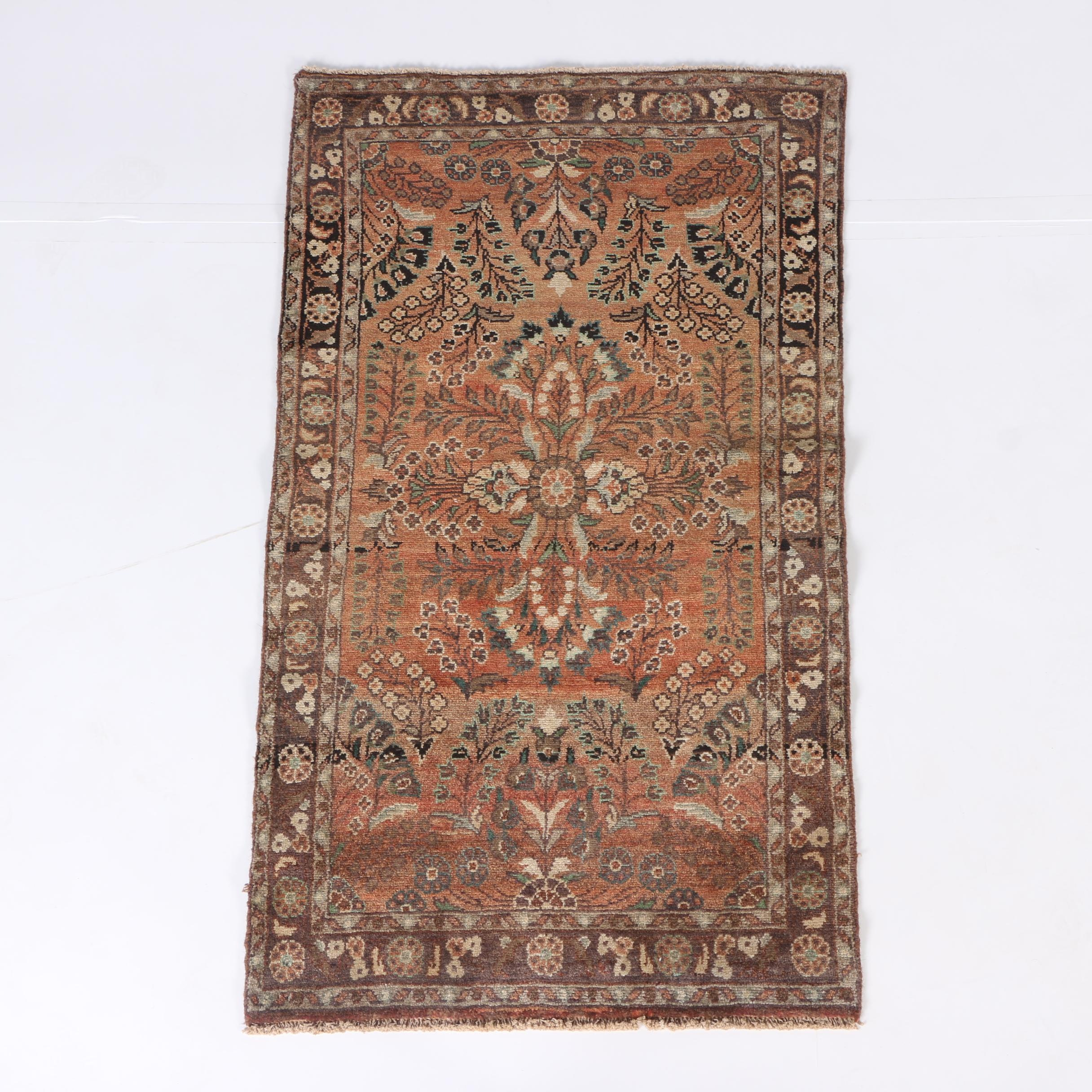 Hand-Knotted Persian Arak Area Rug