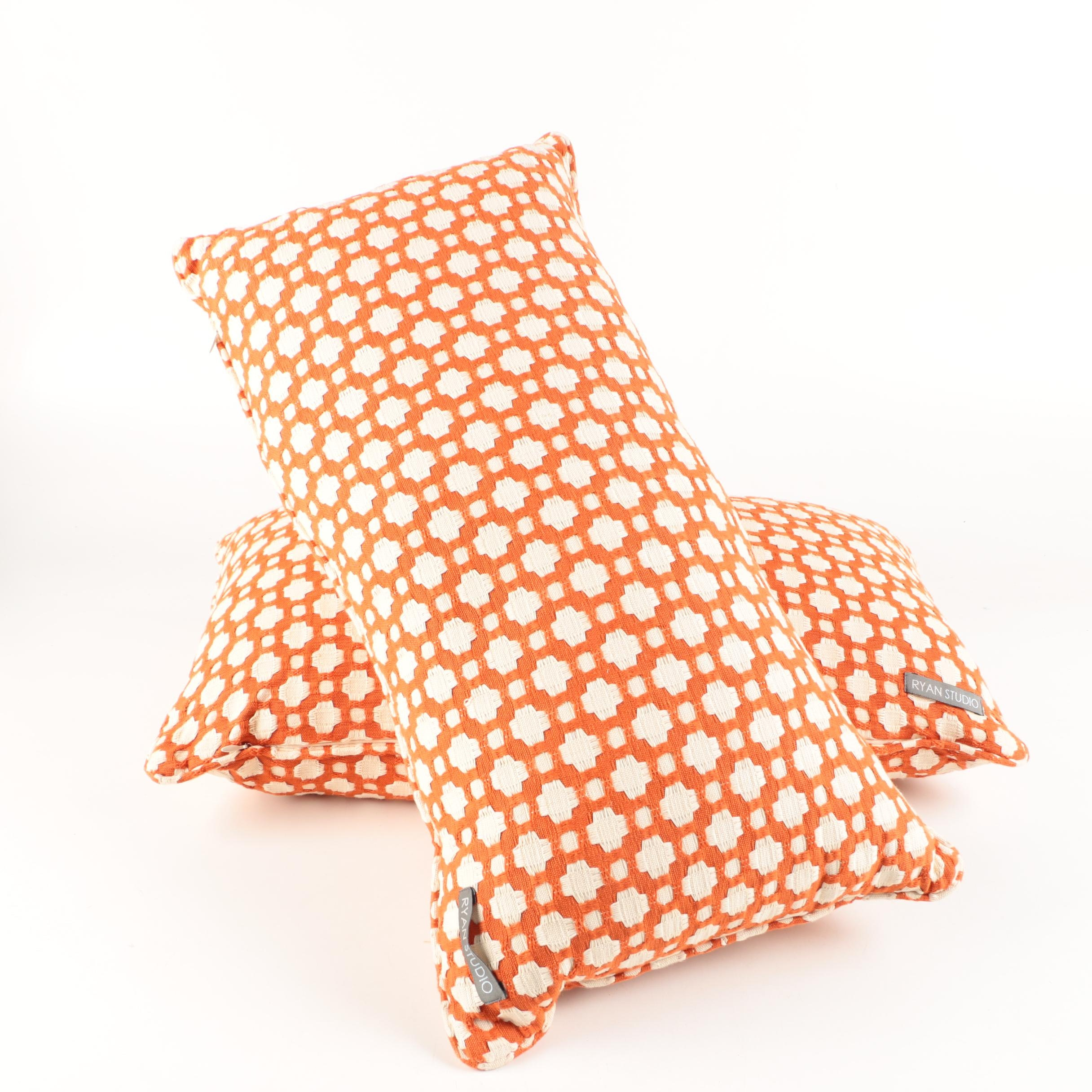 Pair of Patterned Accent Pillows