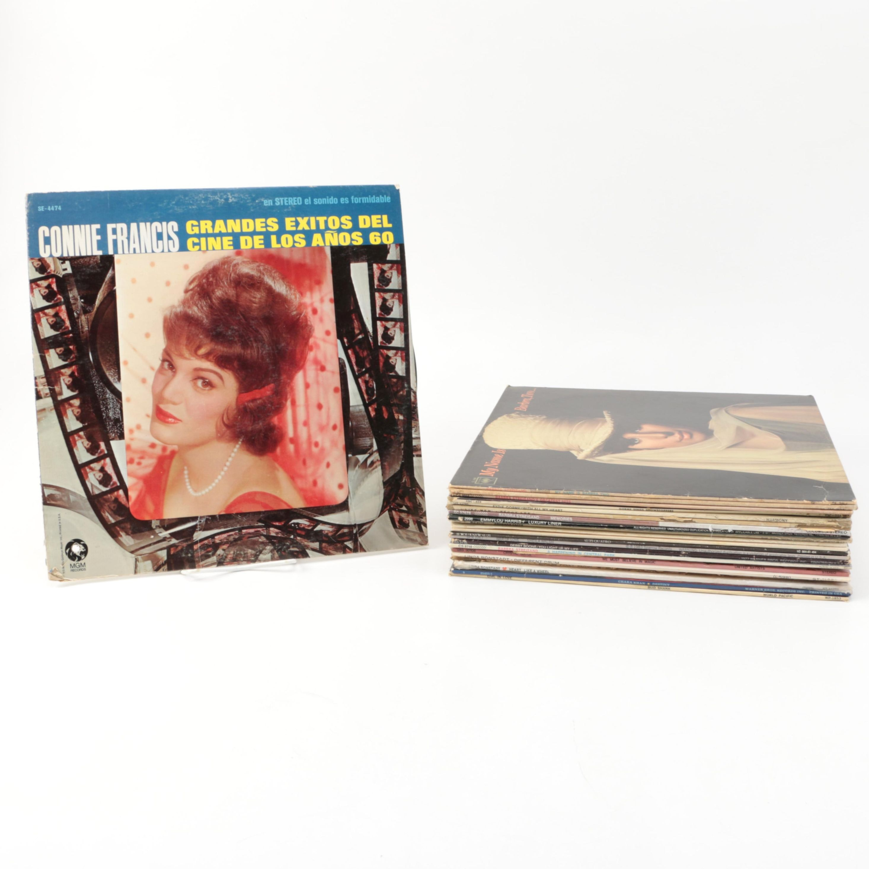 Collection of Vintage LPs by Female Artists