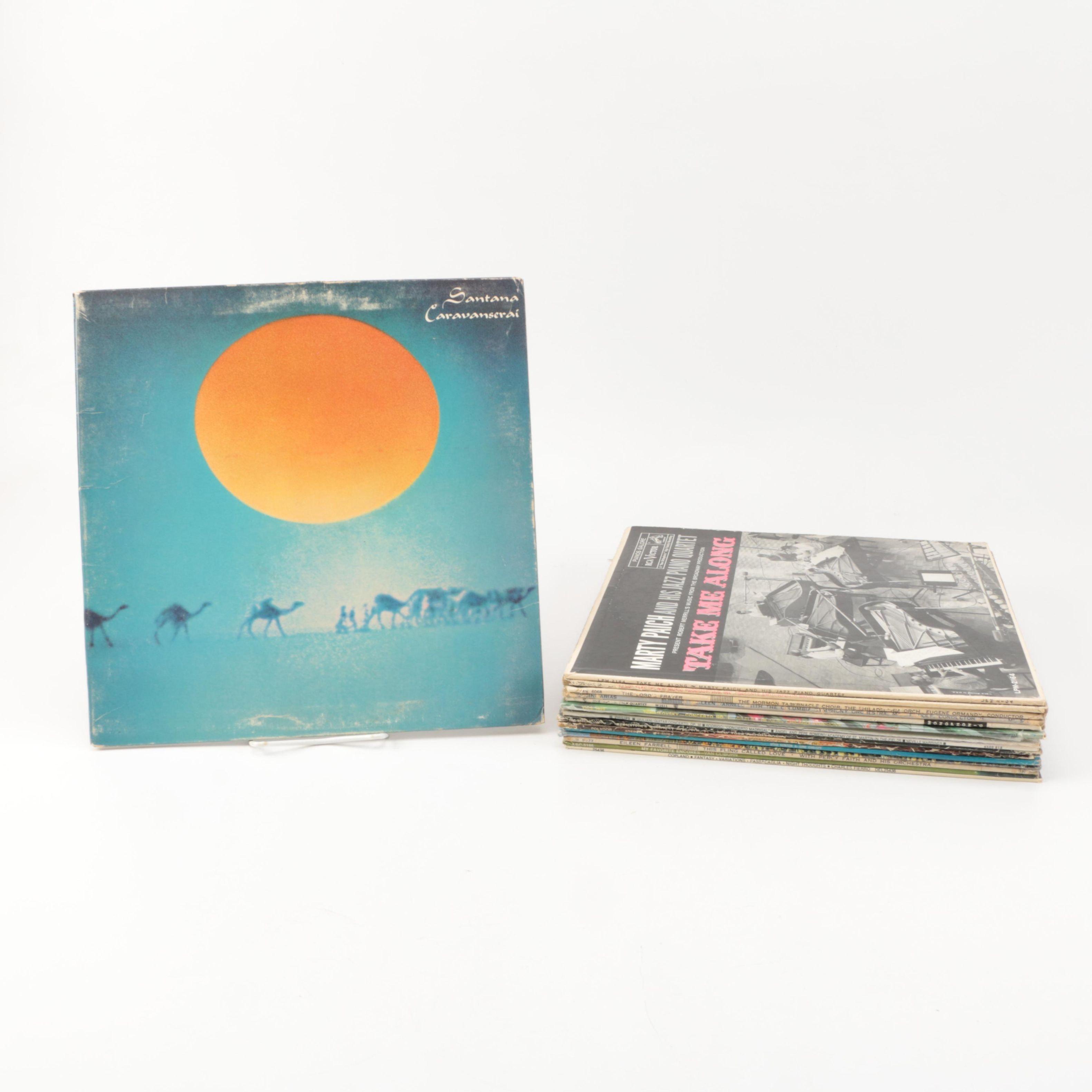 Tchaikovsky, Bernstein and Other Vintage LPs