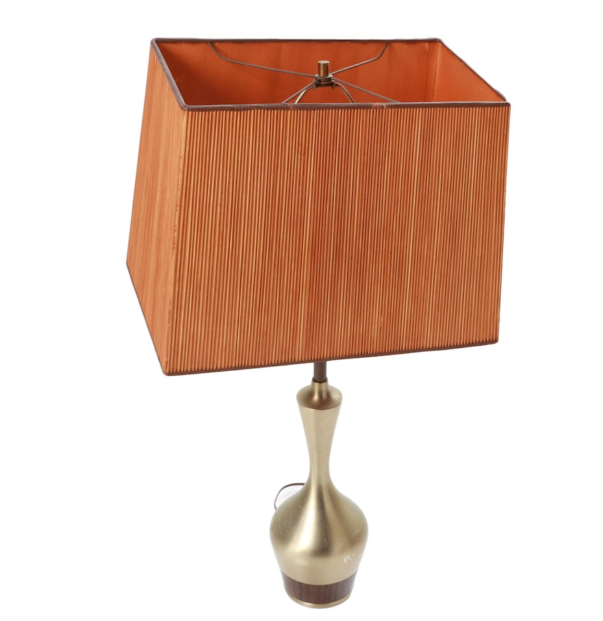Mid century modern table lamp ebth mid century modern table lamp geotapseo Image collections