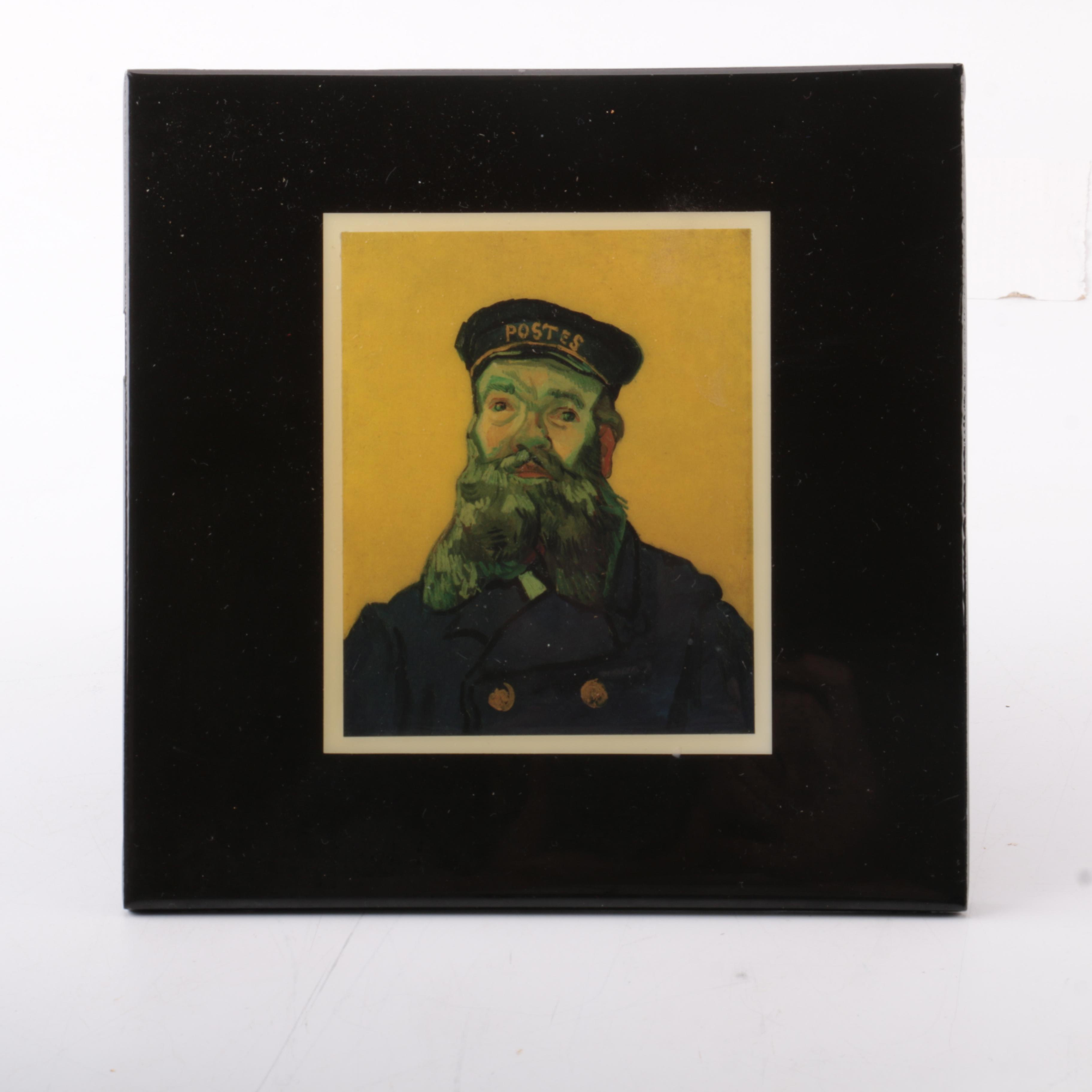 """Vincent van Gogh Offset Lithograph """"Portrait of Joseph Roulin"""""""