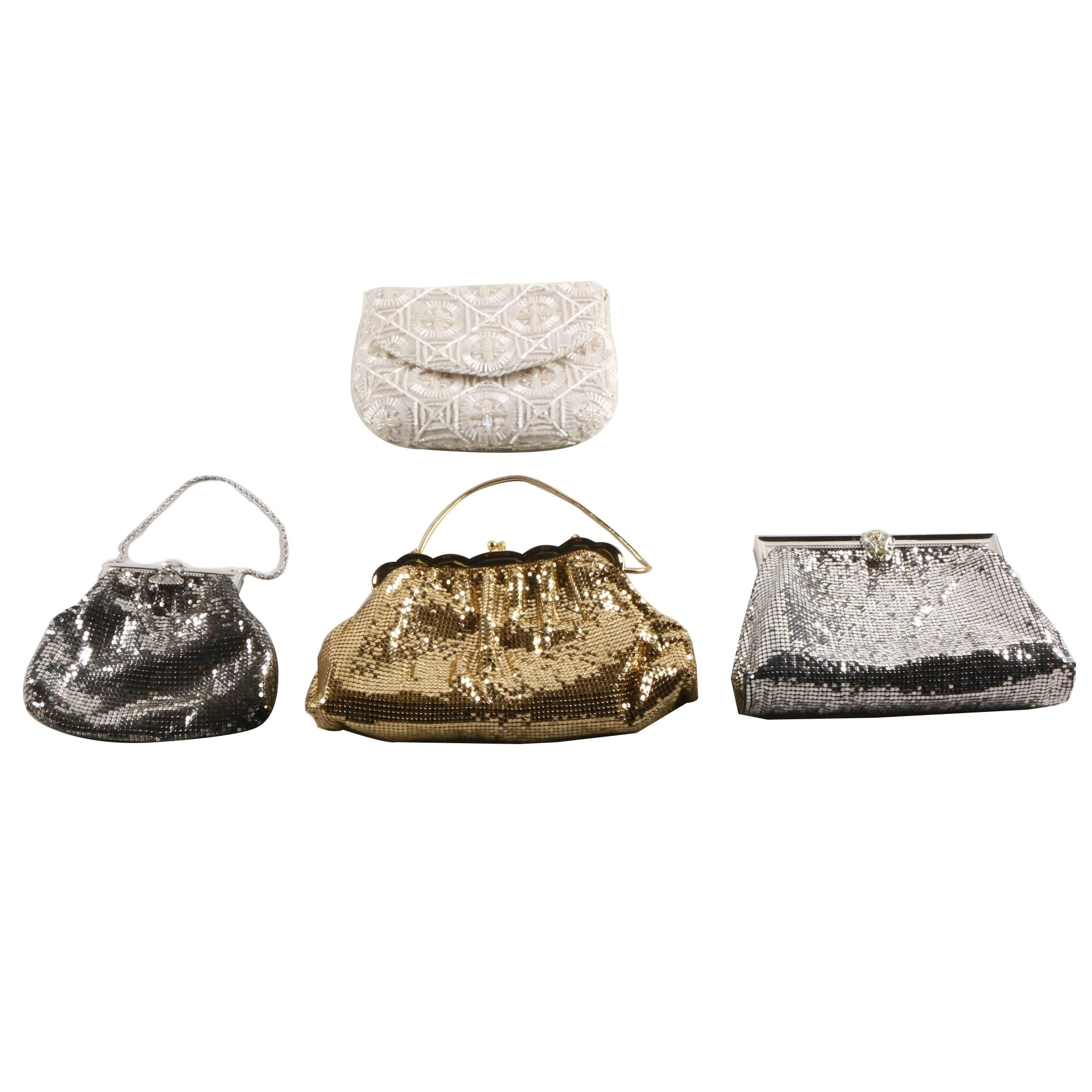 Beaded and Mesh Clutches Including Whiting & Davis