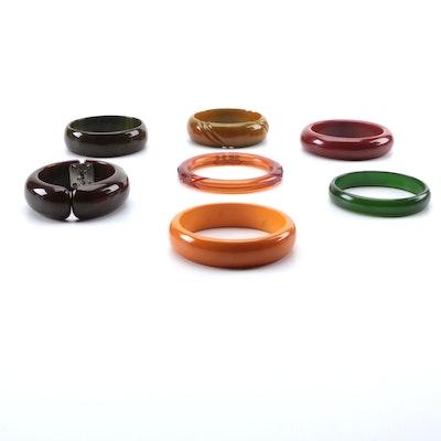 Bakelite Bangle Bracelet Selection