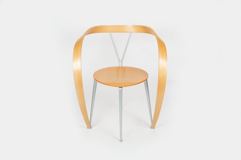 "Modern ""Revers"" Chair by Andrea Branzi for Cassina"