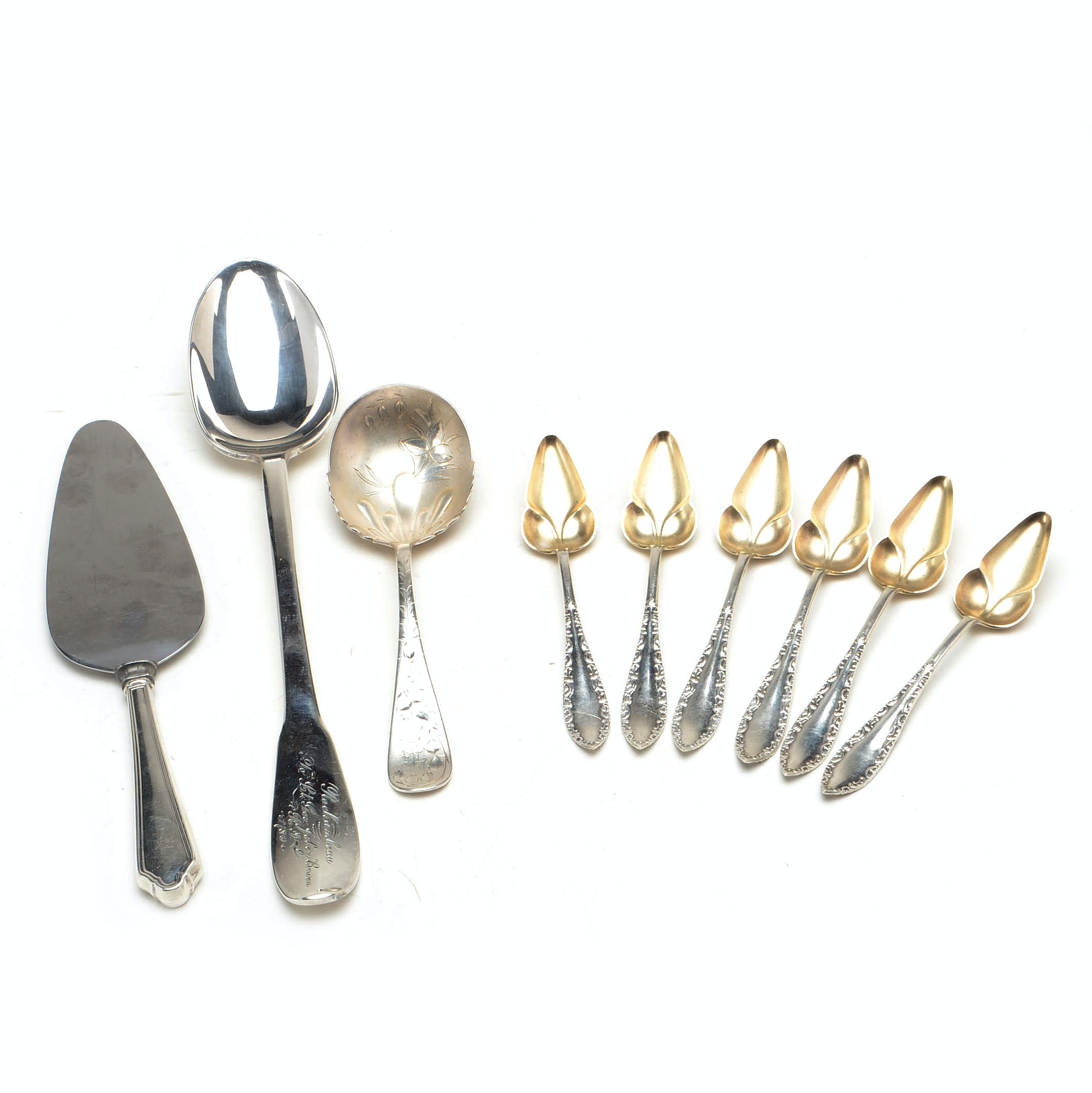 Towle, Gorham, and Other Silver Plate Serving Utensils