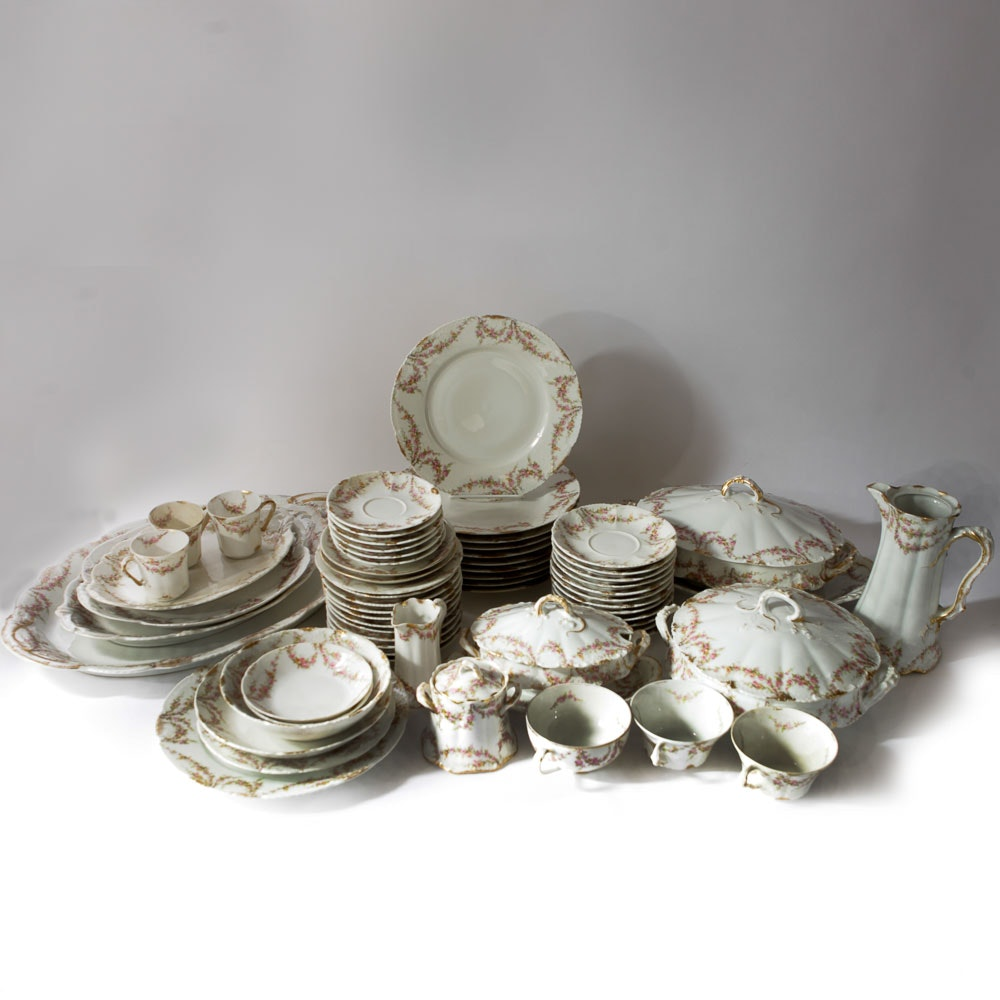 Set of Theodore Haviland Limoges China