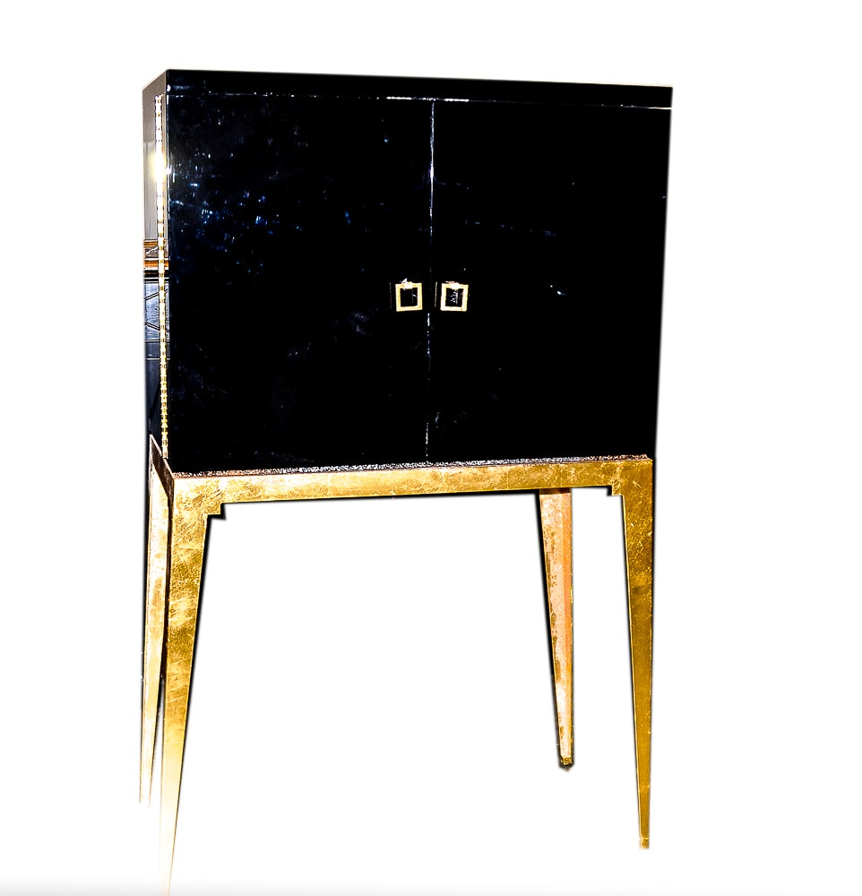 Art Deco Style Bar Cabinet On Stand By Safavieh Couture ...