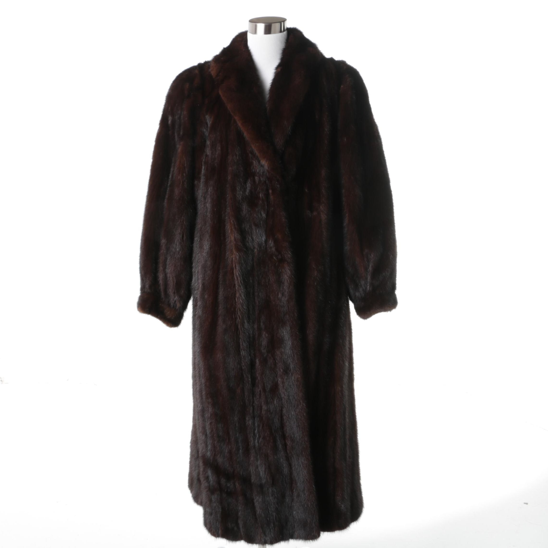 Mink Full Length Carol Little Fur Coat