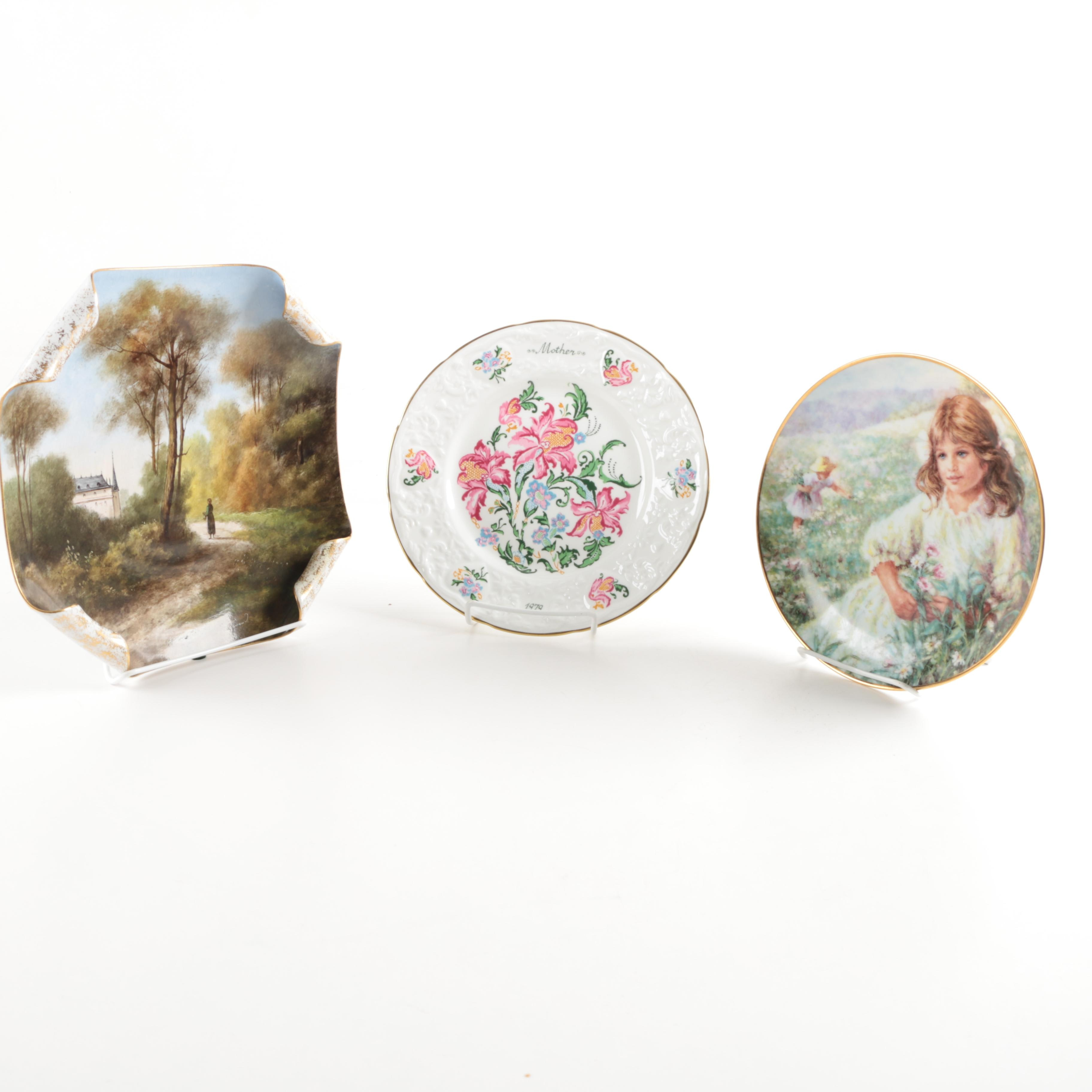 Assortment of Collectible Plates
