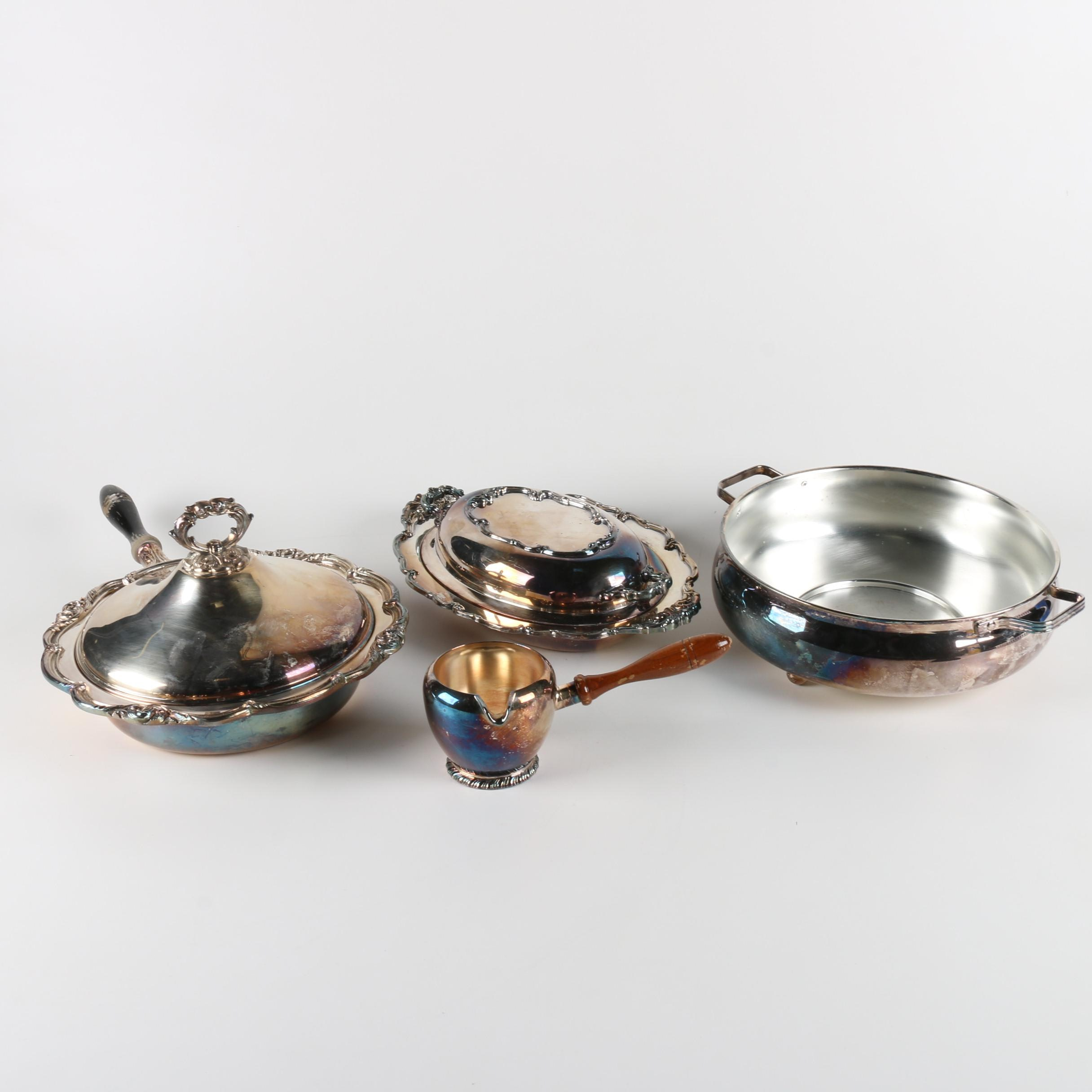 Silver Plate Serveware Featuring Friedman Silver Co.