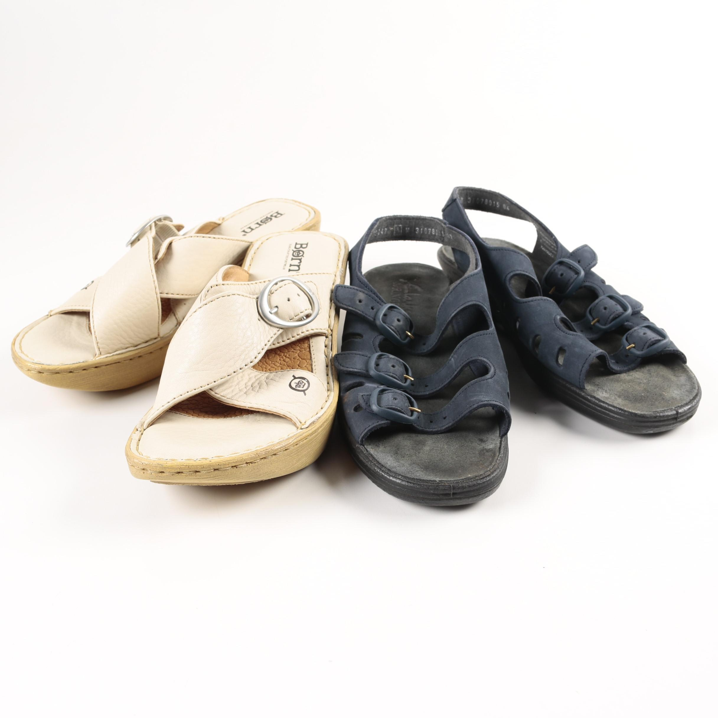 Woman's Sandals Including Born