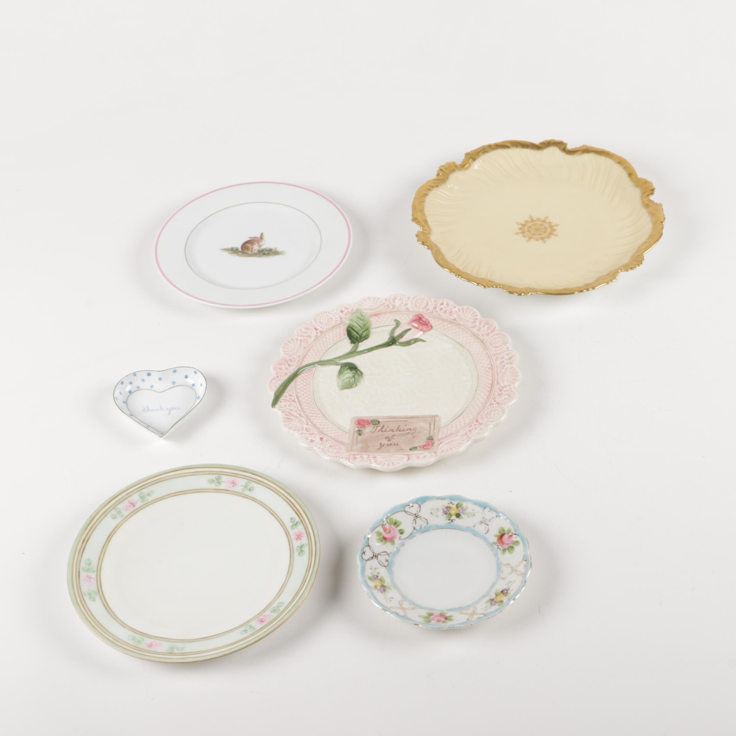 Hand Painted Decorative Porcelain Plates