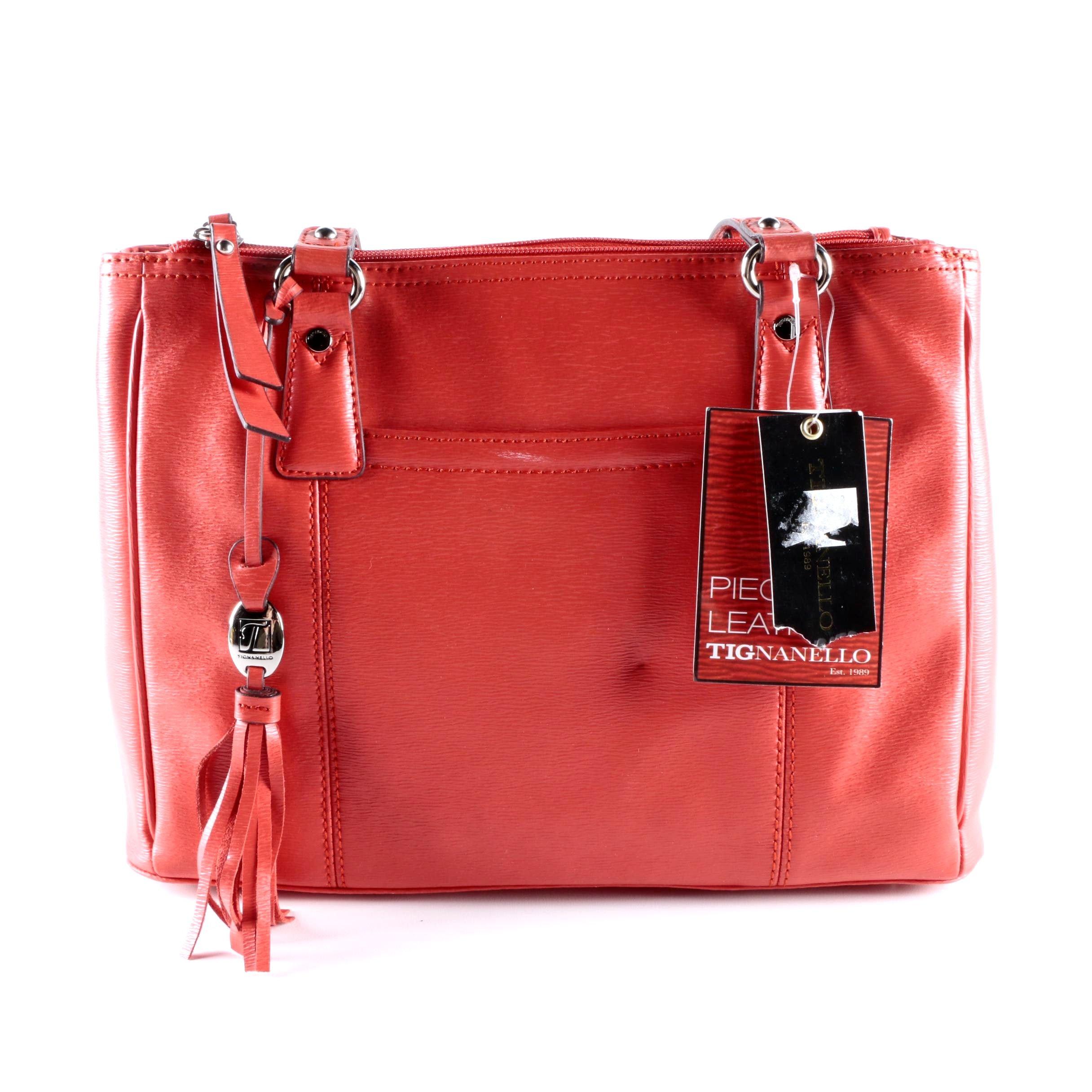 Tignanello Piega Leather Shoulder Bag