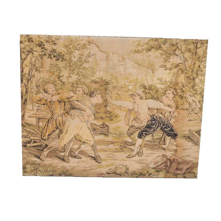 Vintage Stretched Tapestry