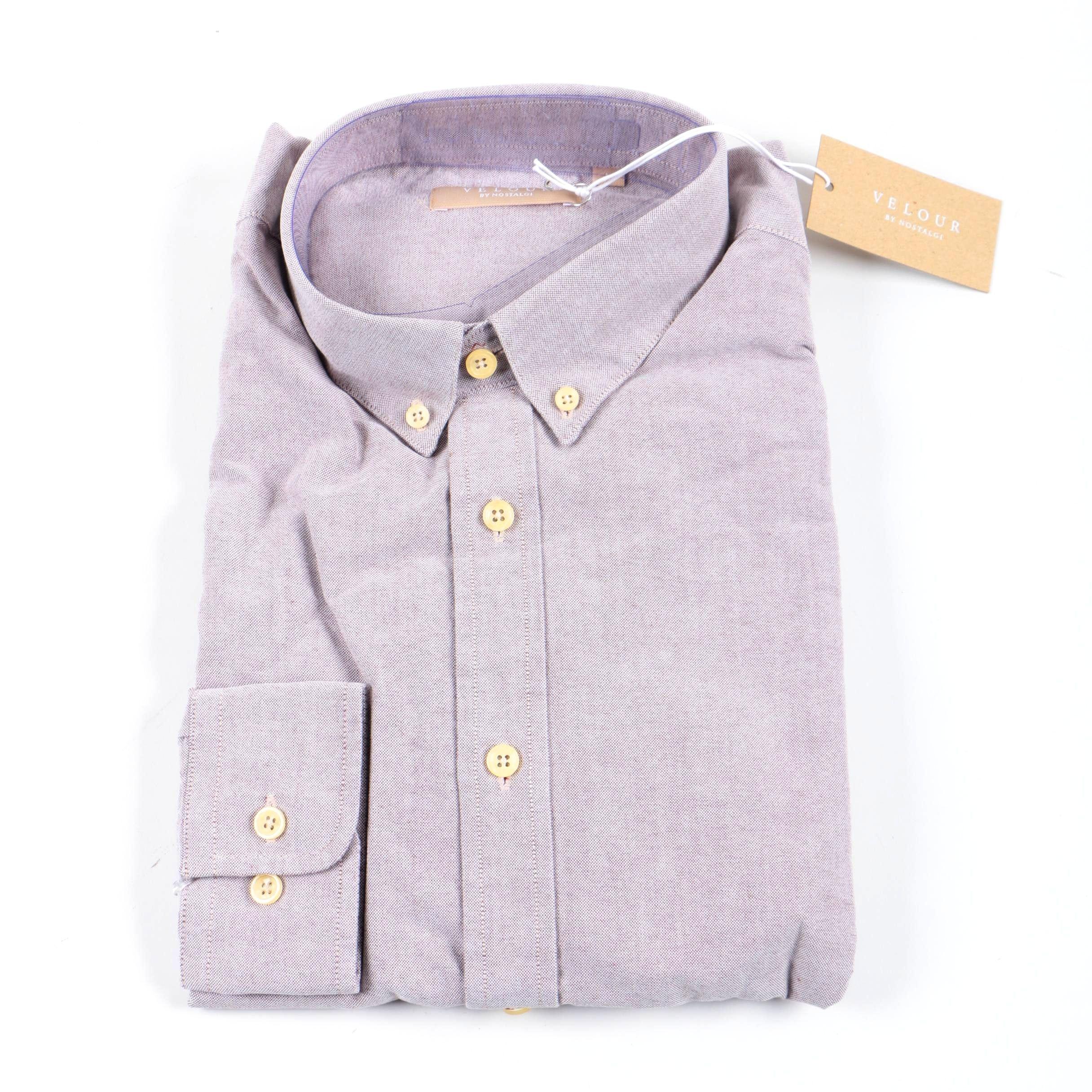 Velour by Nostalgi Button Down Shirt