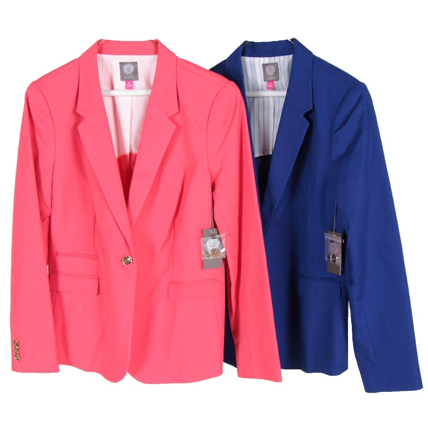 99514979c56b Women's Vince Camuto Pink and Blue Blazers : EBTH