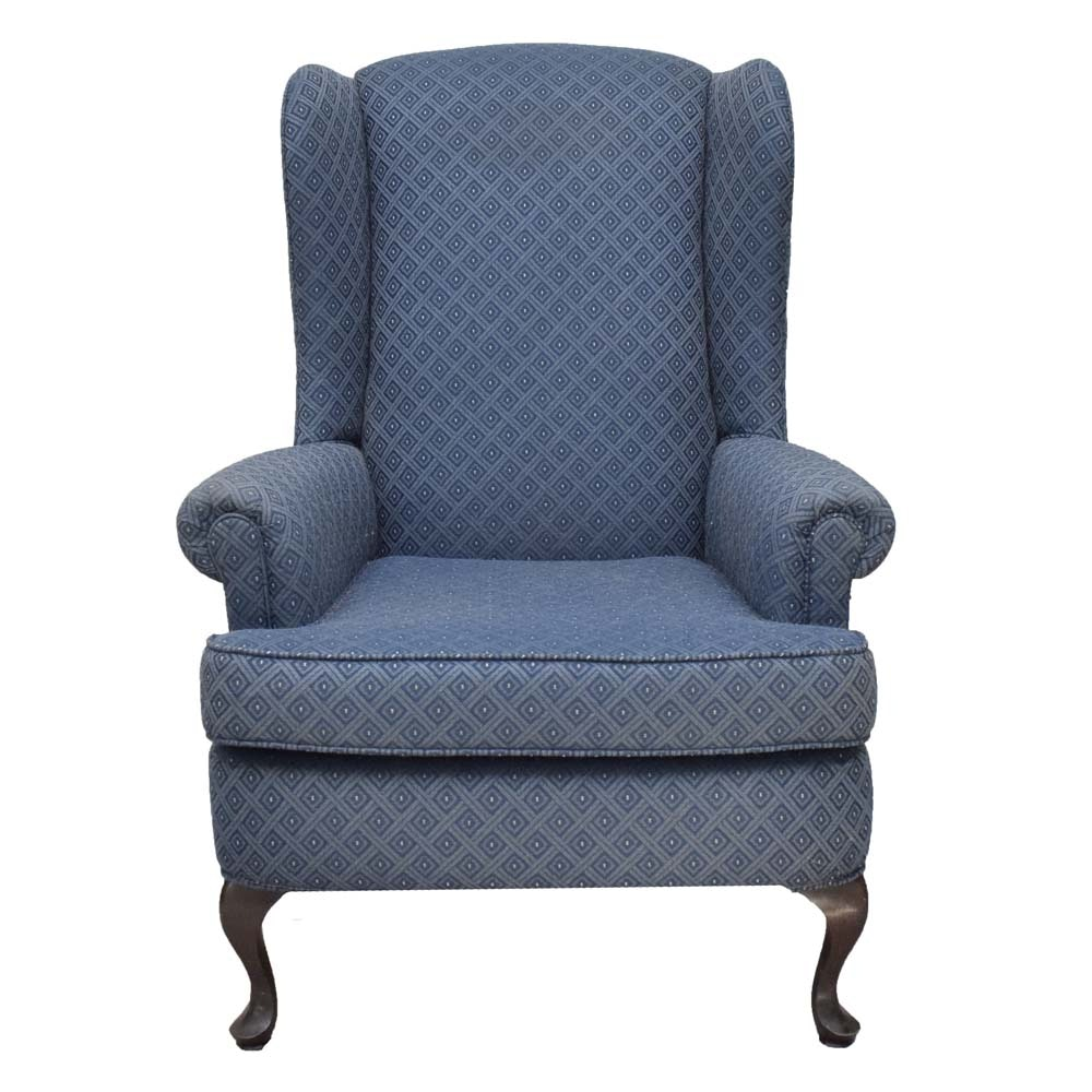Upholstered Wingback Arm Chair