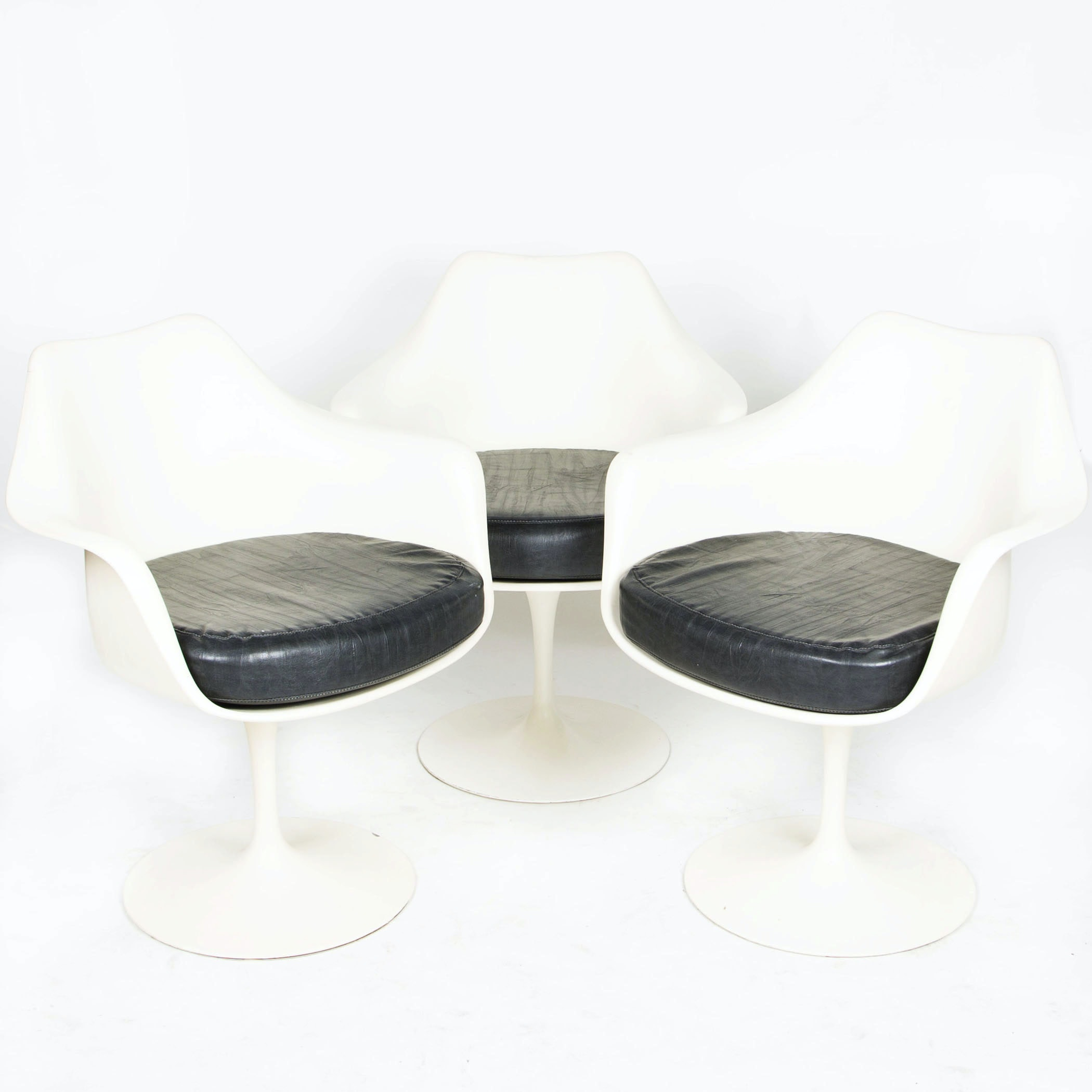 """Tulip"" Armchairs by Eero Saarinen for Knoll, Circa 1960s"