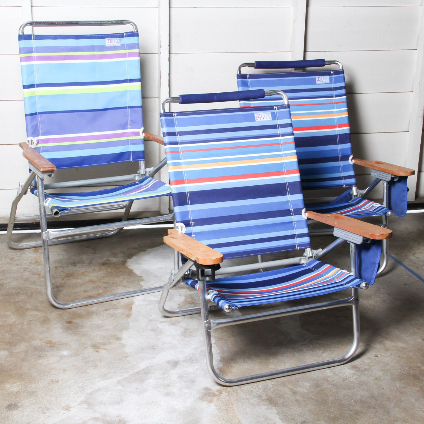 Collection of Beach Chairs by Rio