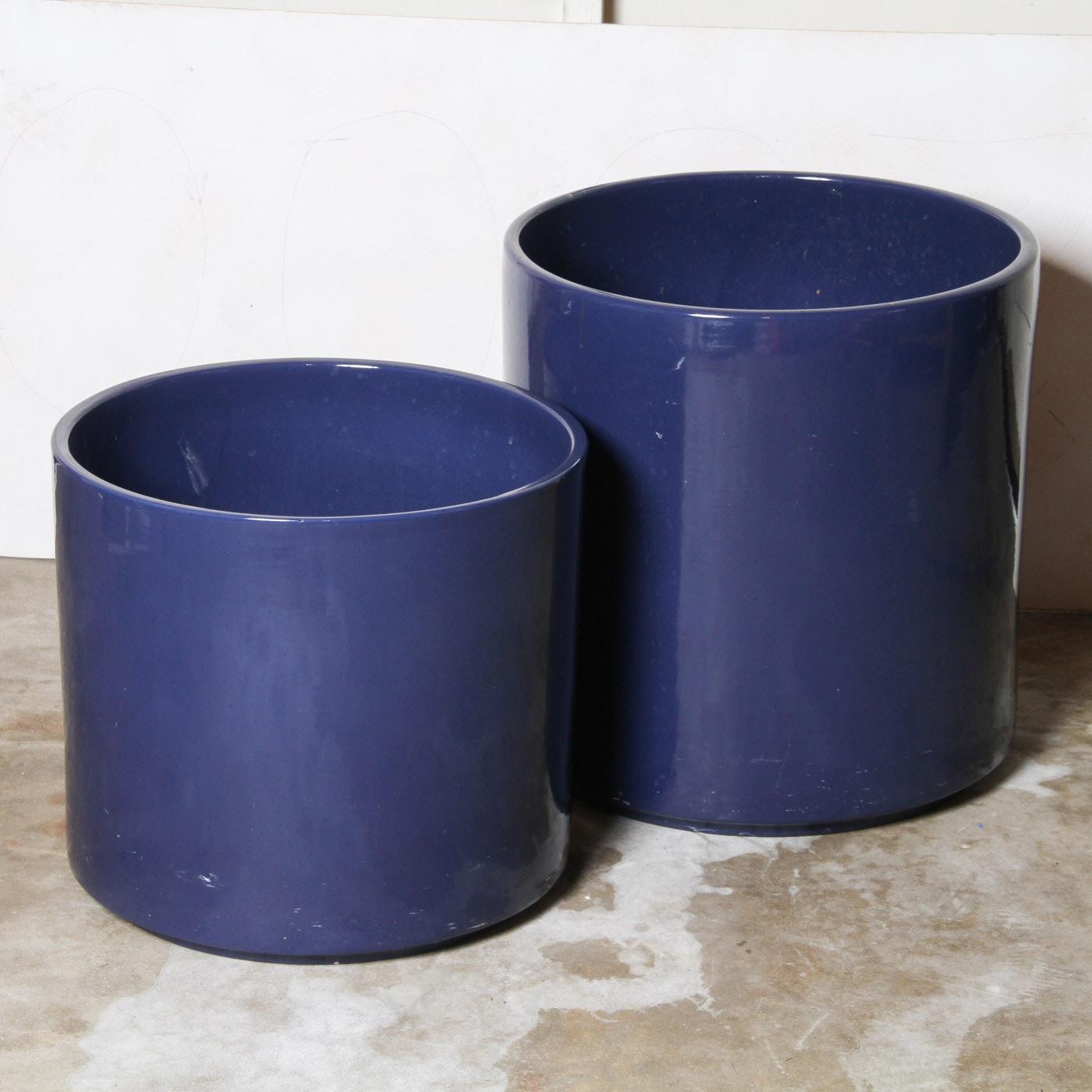 Vintage Gainey Large Ceramic Pottery Planters