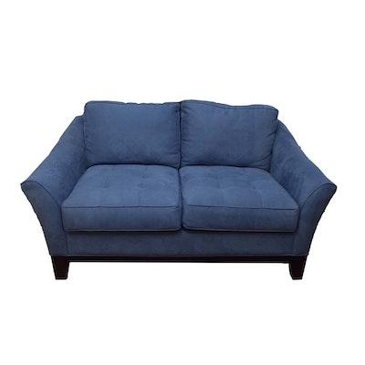 cindy crawford home upholstered loveseat - Wood Frame Loveseat
