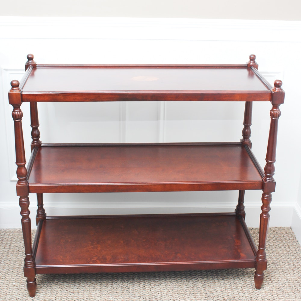 Butler Furniture Three Tier Console Table
