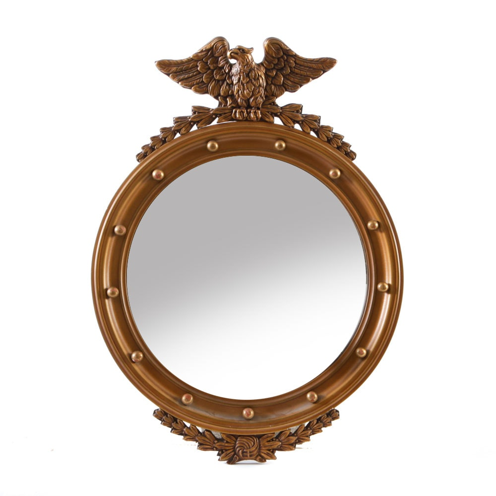 Federal Style Convex Wall Mirror