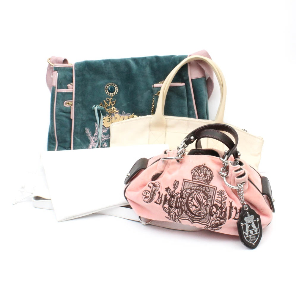 Juicy Couture and Furla Purses and Bags