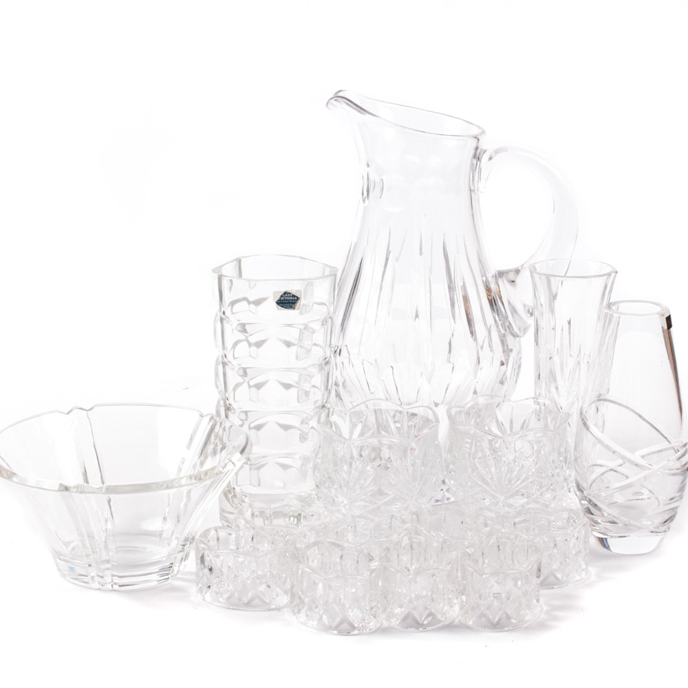 Crystal Tableware Featuring Gorham and Thomas Webb