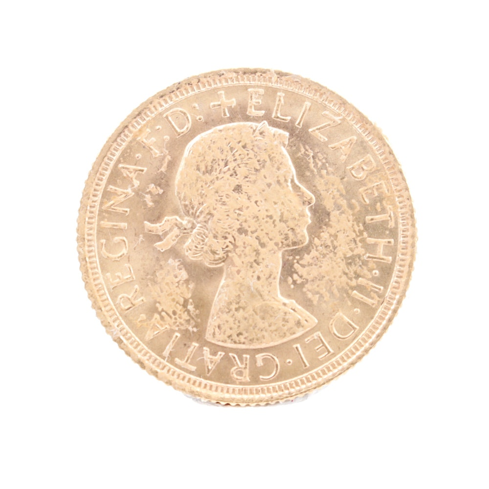 1962 Great Britain Gold Sovereign