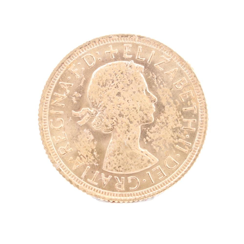 1962 Elizabeth II Gold Sovereign