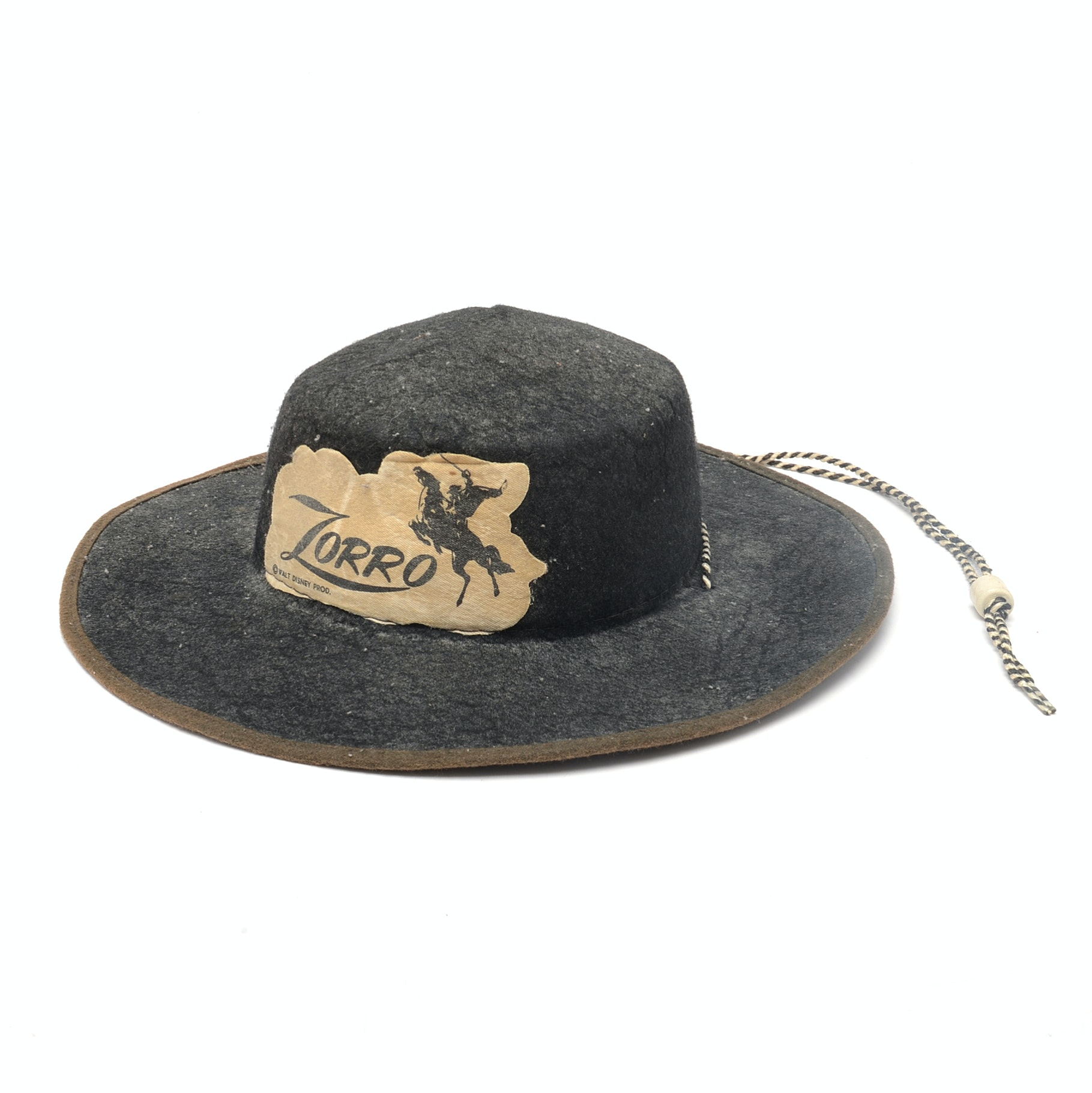 "Vintage ""Zorro"" Walt Disney Hat"