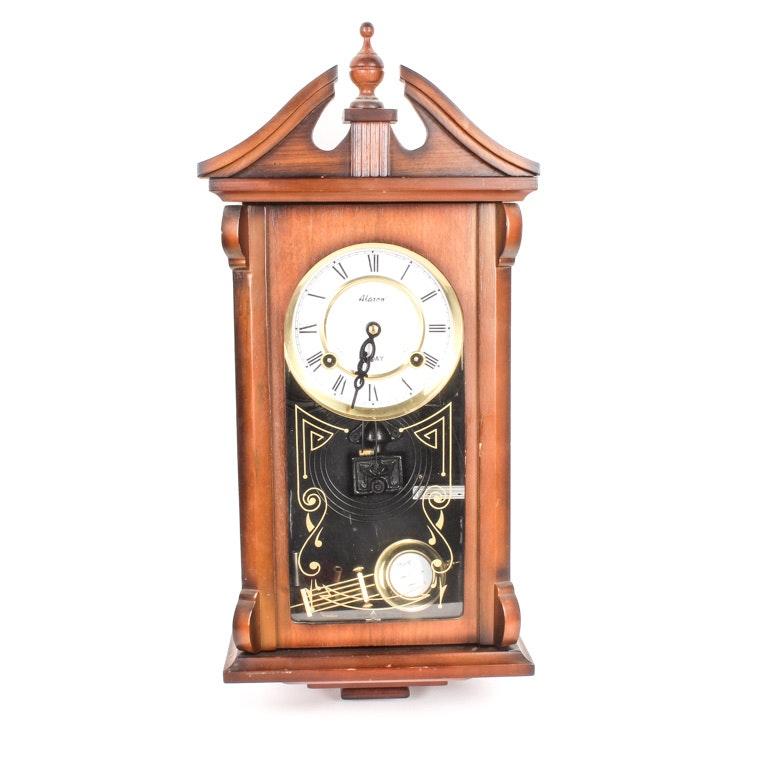 Alaron 31 Day Wall Clock