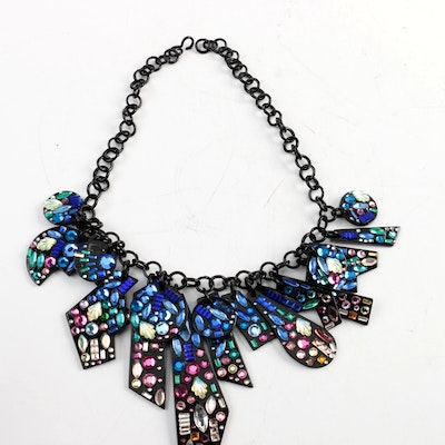 Vintage Bill Schiffer Statement Necklace