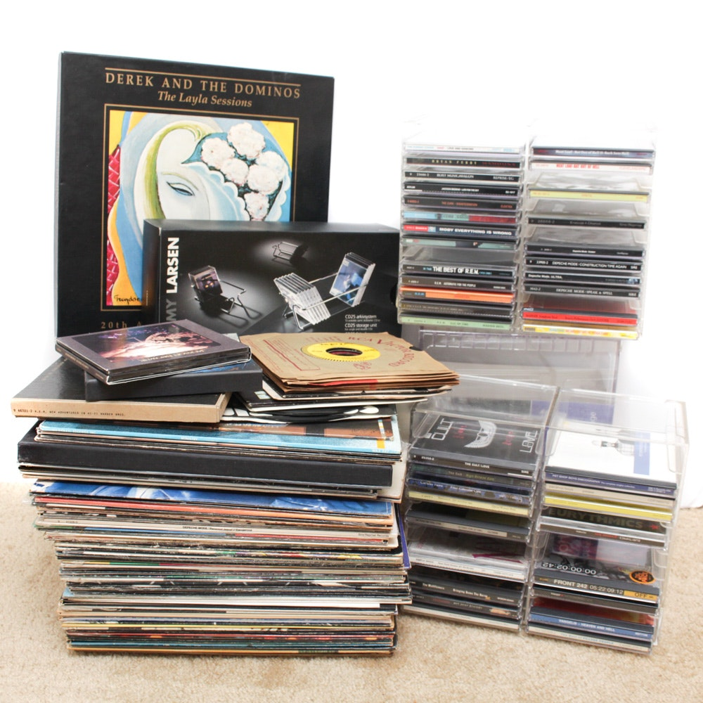 CD and Vintage Record Collection