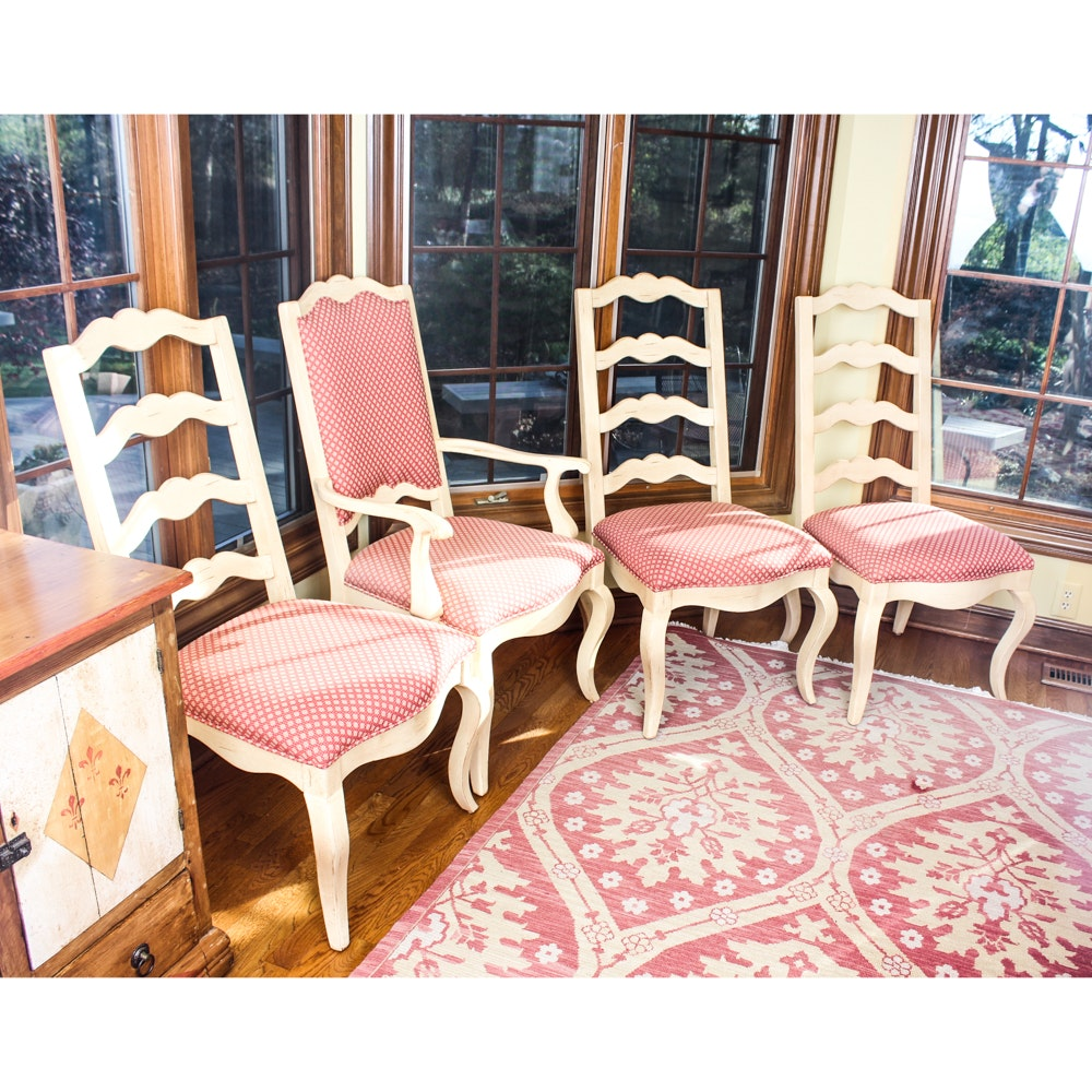 French Provincial Style Dining Chairs by Century Furniture