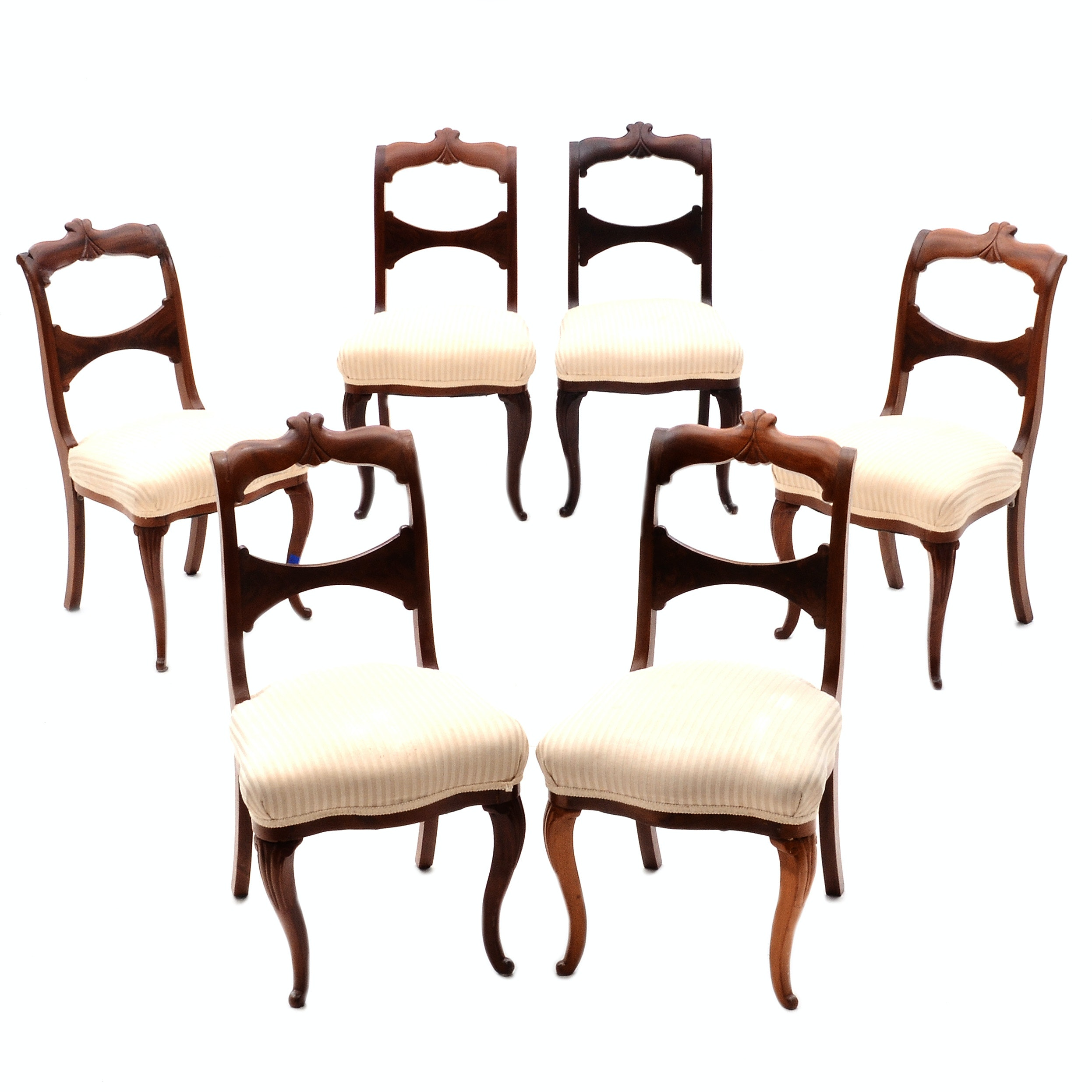 Grouping of Queen Anne Style Side Chairs