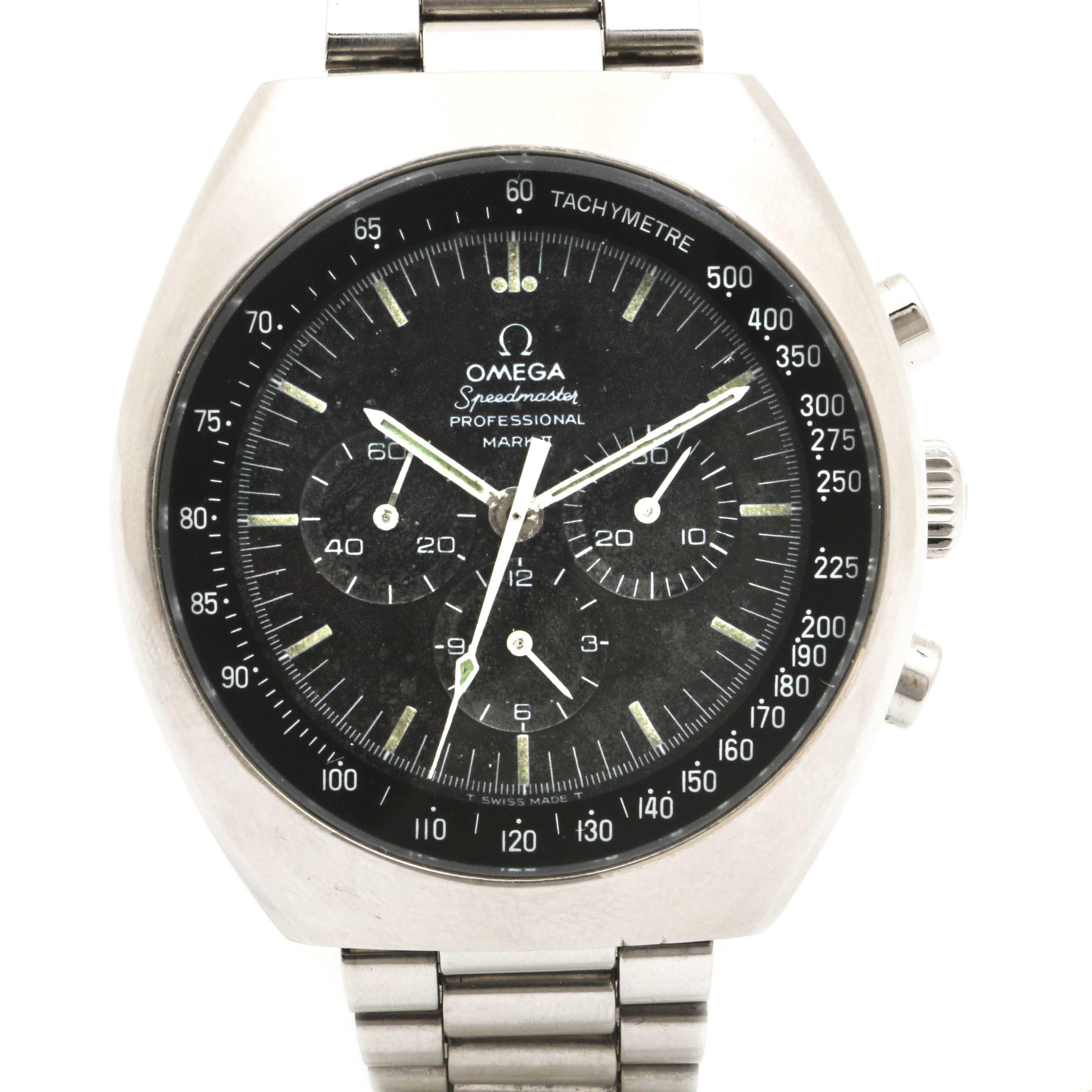 Omega Speedmaster Professional Mark II Chronograph Wristwatch
