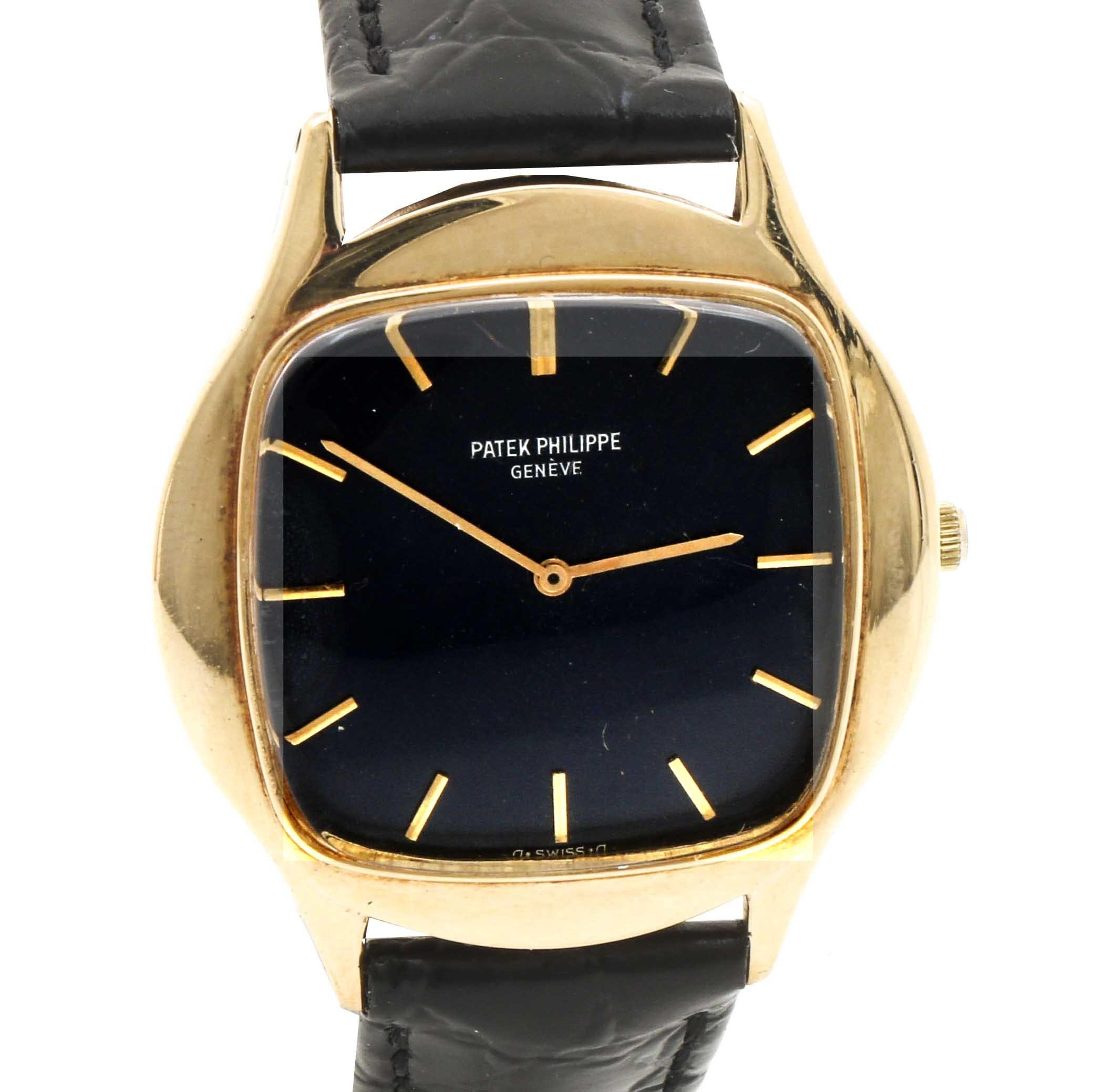 Patek Philippe 18K Yellow Gold Wristwatch