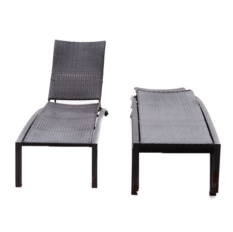 Set of Outdoor Lounge Chairs