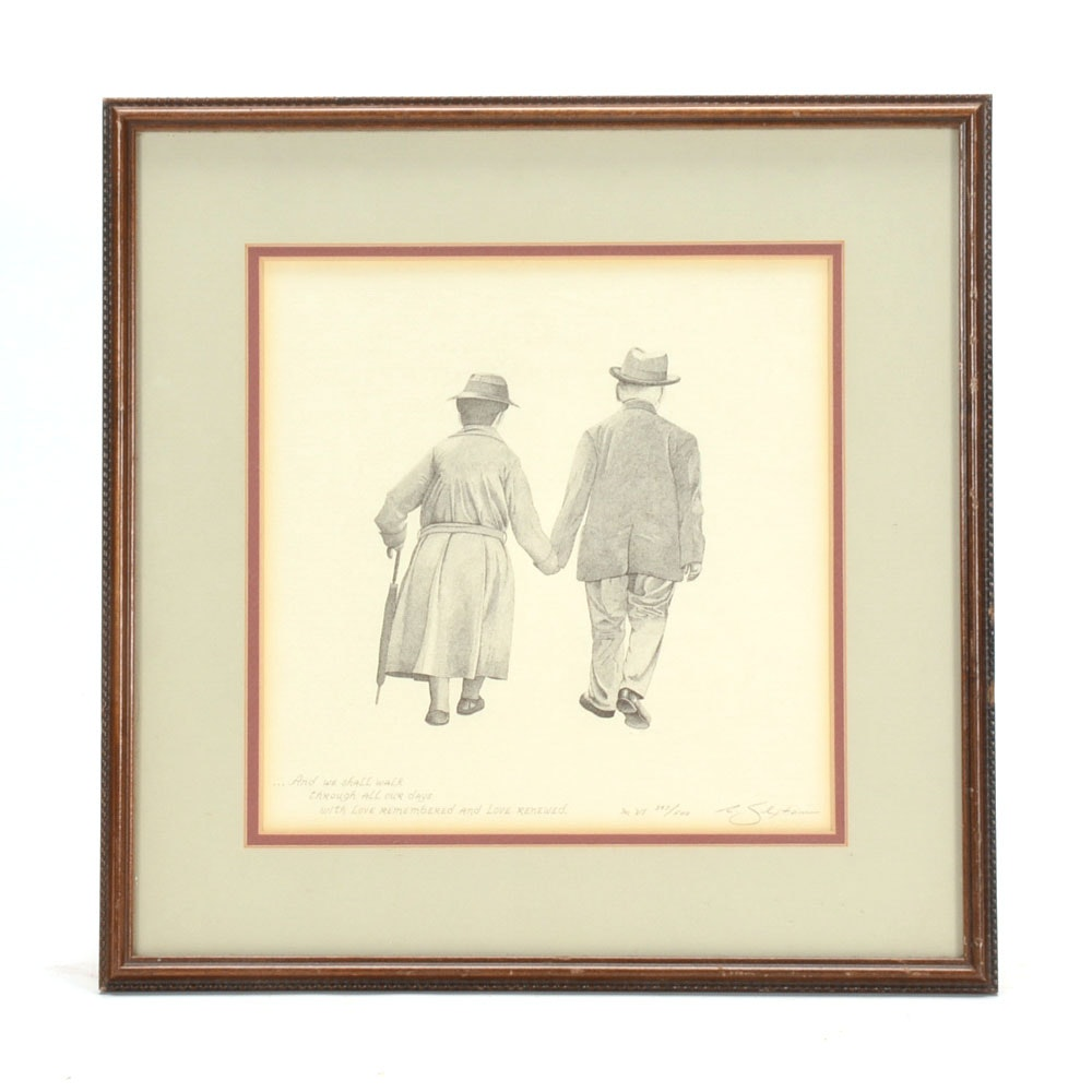 """Robert Sexton Signed Limited Edition Lithographic Print """"The Vow"""""""