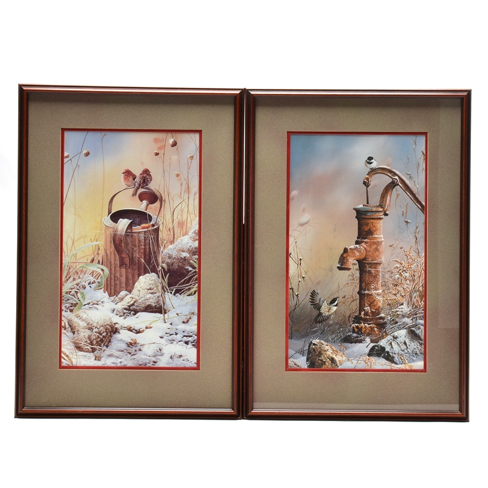 Two Christopher Walden Signed Limited Edition Offset Lithographs